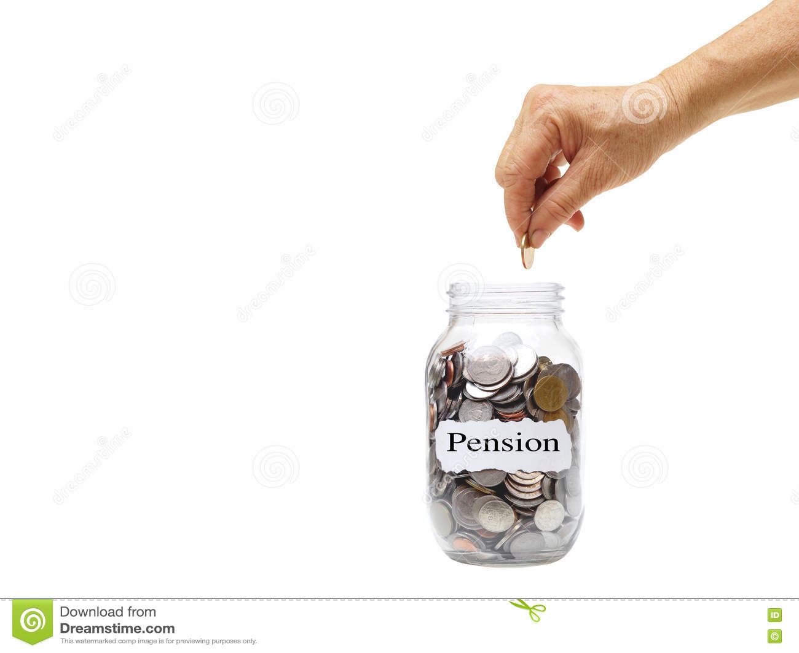 Besparing voor pensioen