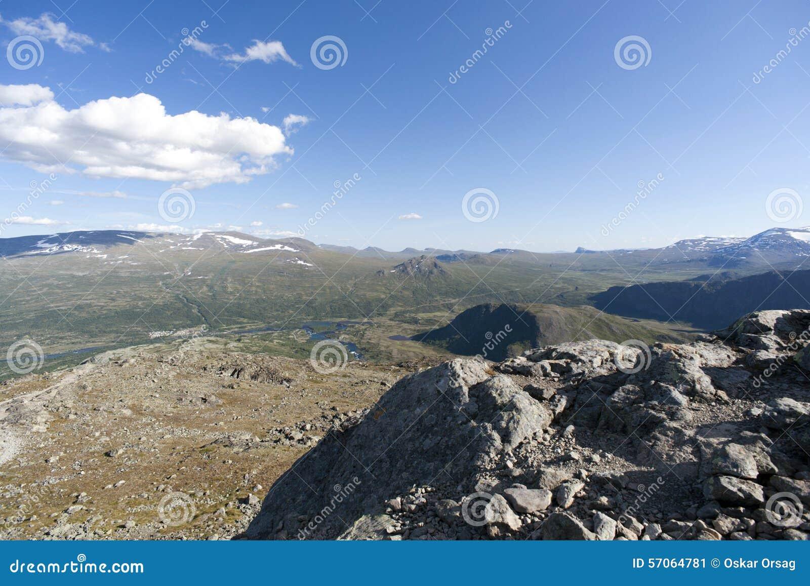 Besseggenrand in het Nationale Park van Jotunheimen