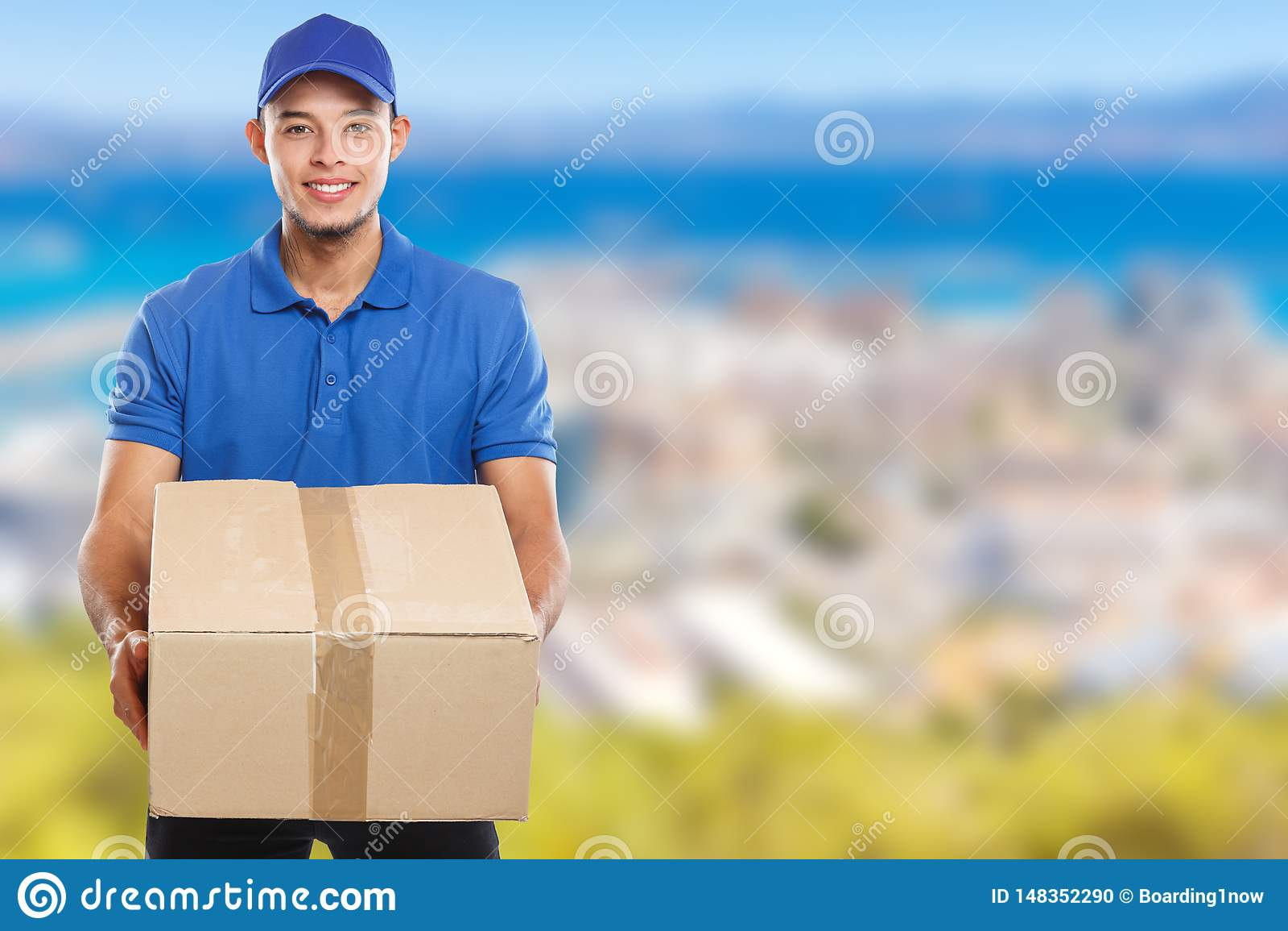 Beställning för packe för jordlotthemsändningask som levererar för mancopyspace för jobb ungt latinskt utrymme för kopia
