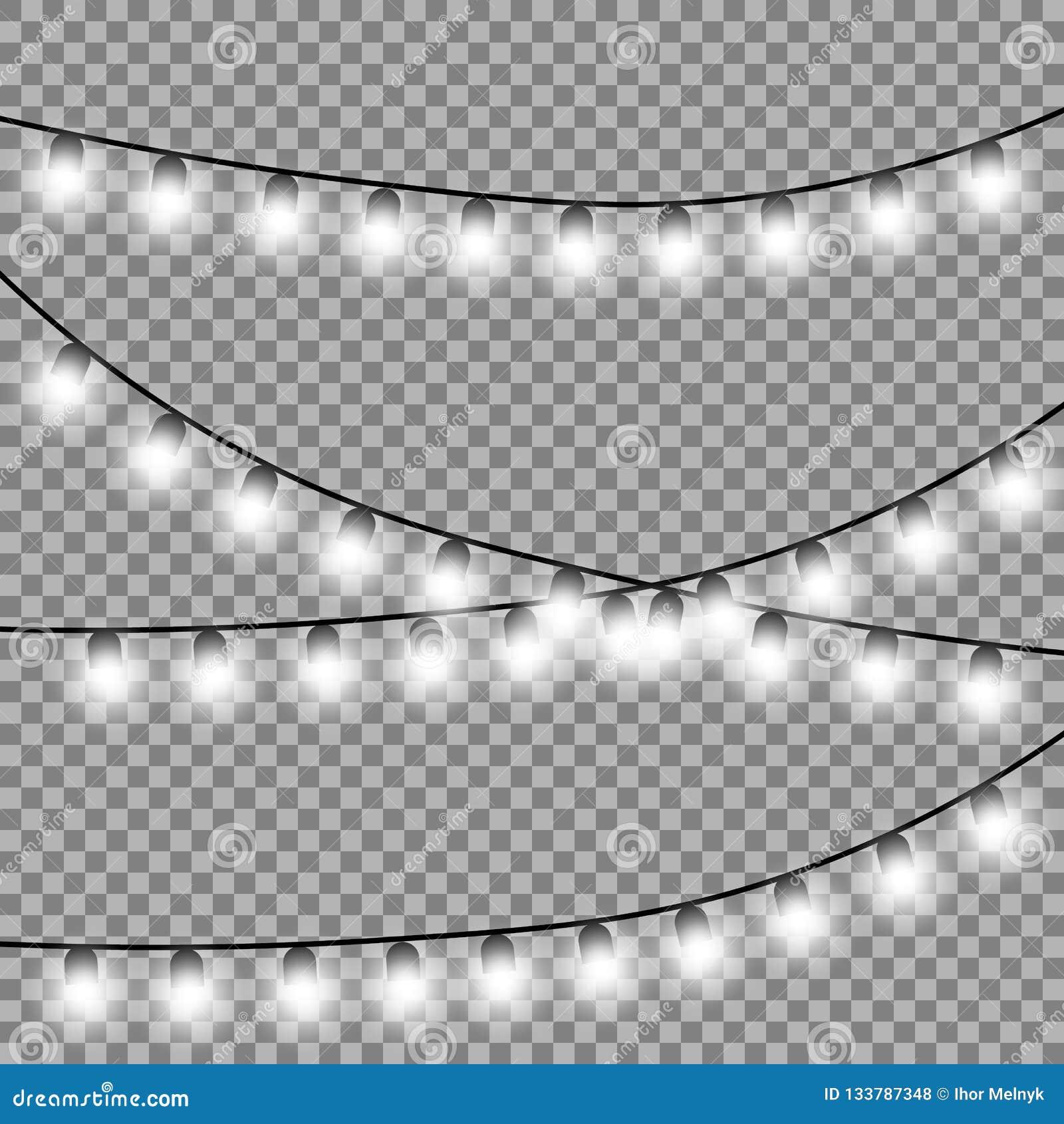 Beståndsdelar för design för julljus isolerade