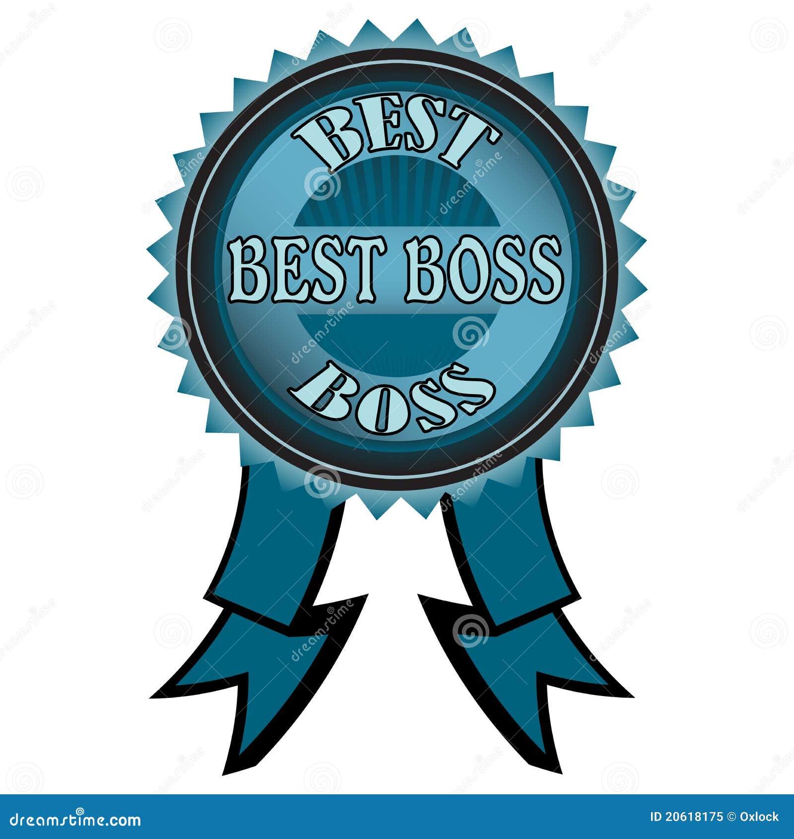 best boss badge royalty free stock photo   image 20618175