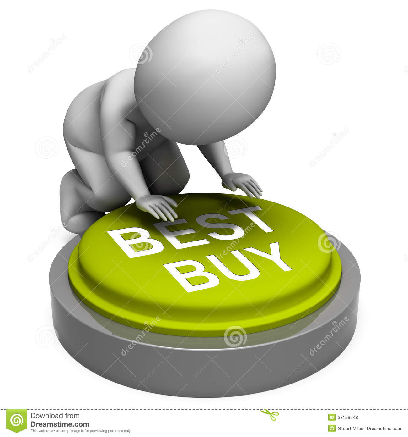 Best Buy Button Shows Superior Product Or Deal Royalty Free Stock Photos  Image: 38159948