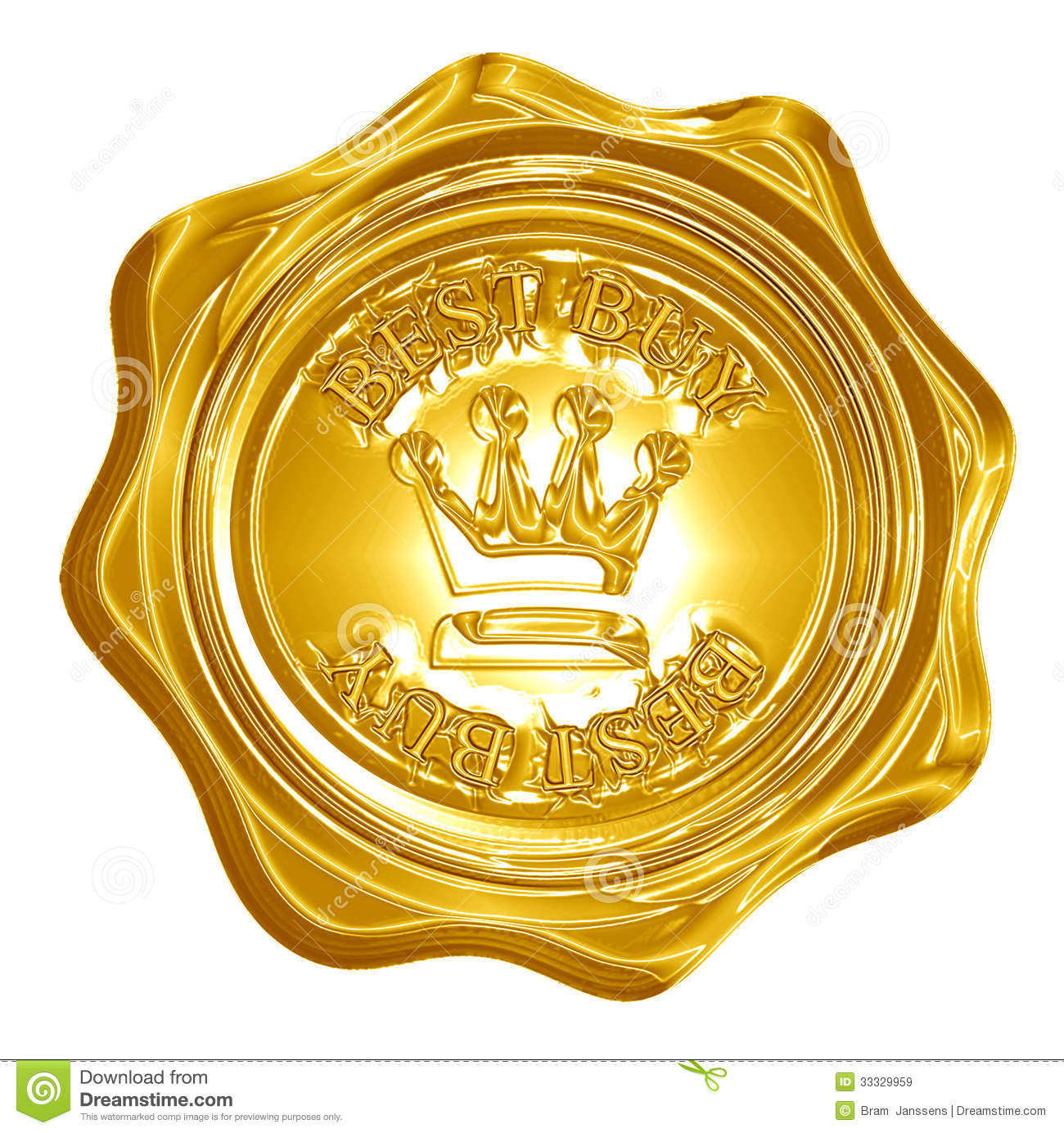 Best Buy Royalty Free Stock Images - Image: 33329959: dreamstime.com/royalty-free-stock-images-best-buy-golden-seal...