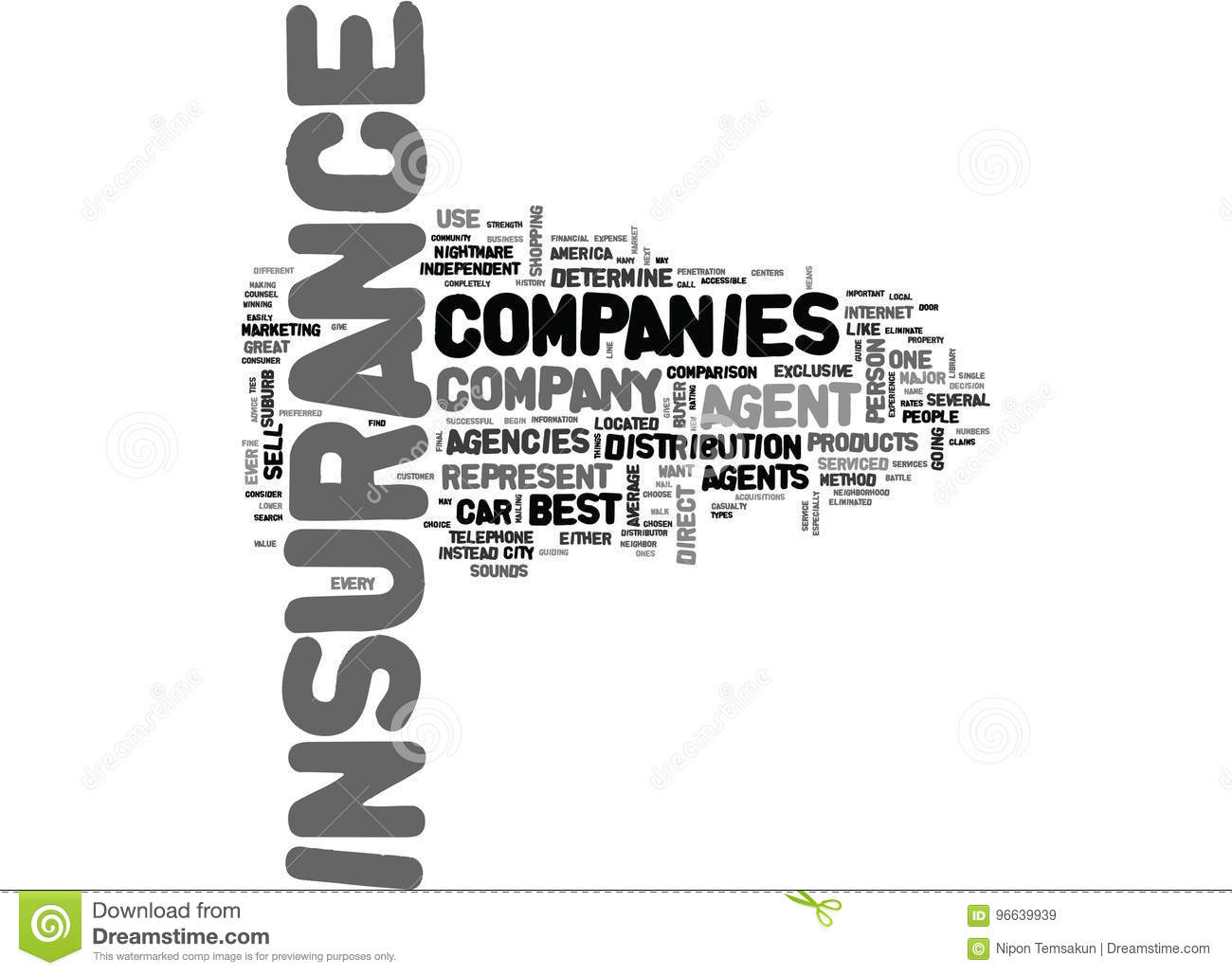 Best Car Insurance Company, wie Person To Choose Word Cloud ist