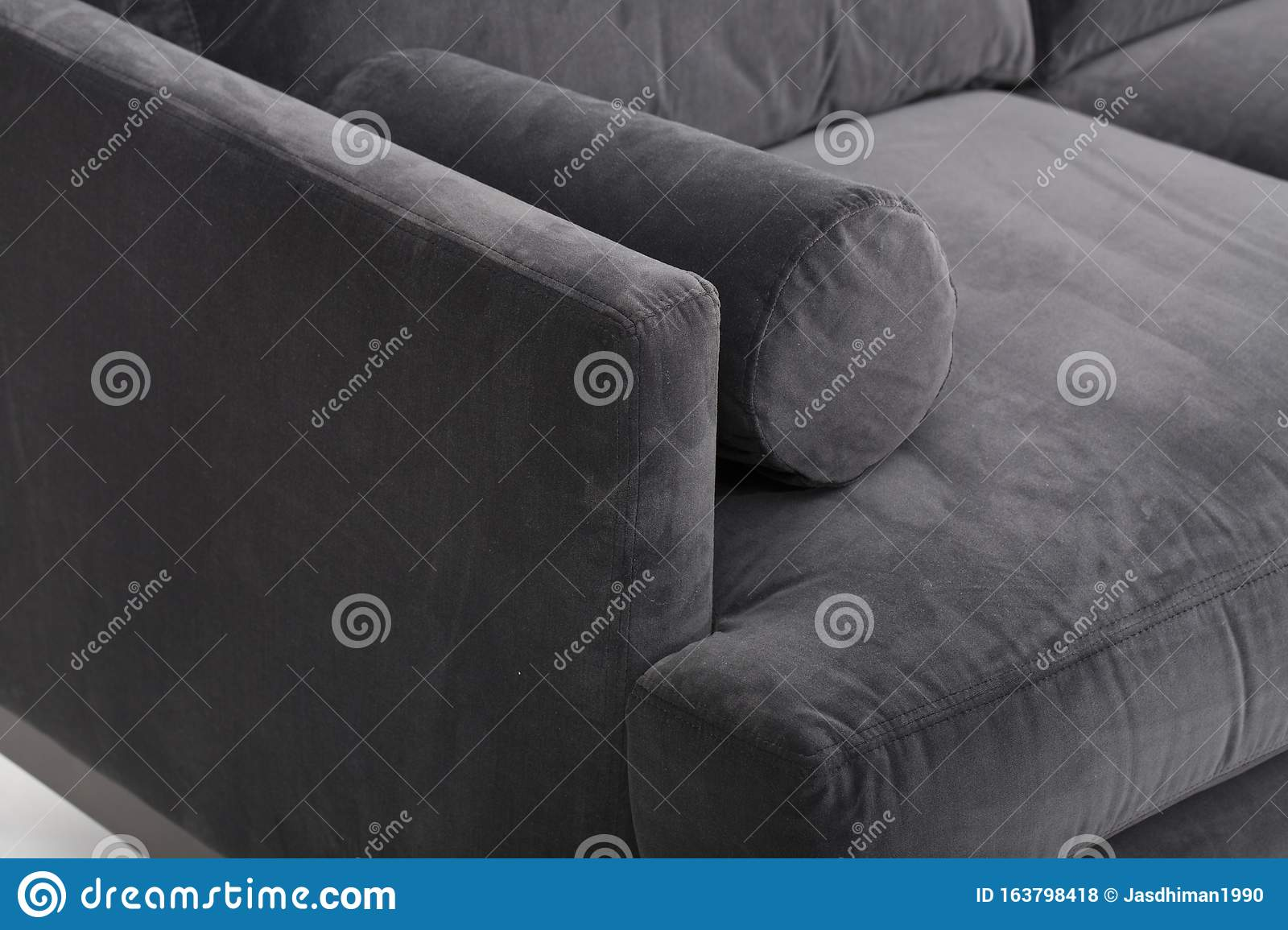 Best Choice Products Modern Faux Leather 3 Seat Modular Sofa With Sofa Bed Andrea Sofa Bed Black With White Background Stock Photo Image Of Room Interior 163798418