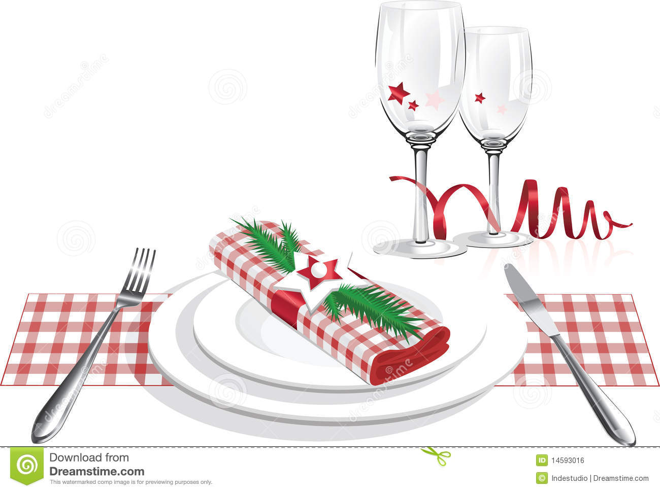 clipart christmas dinner pictures - photo #30