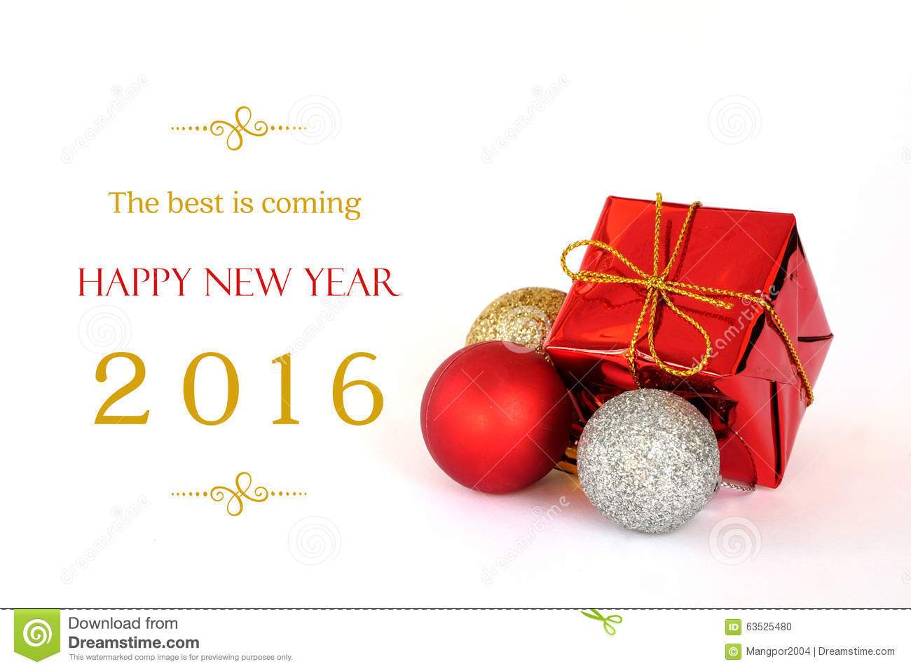The Best Is Coming, Happy New Year 2016 Banner Stock Photo - Image ...