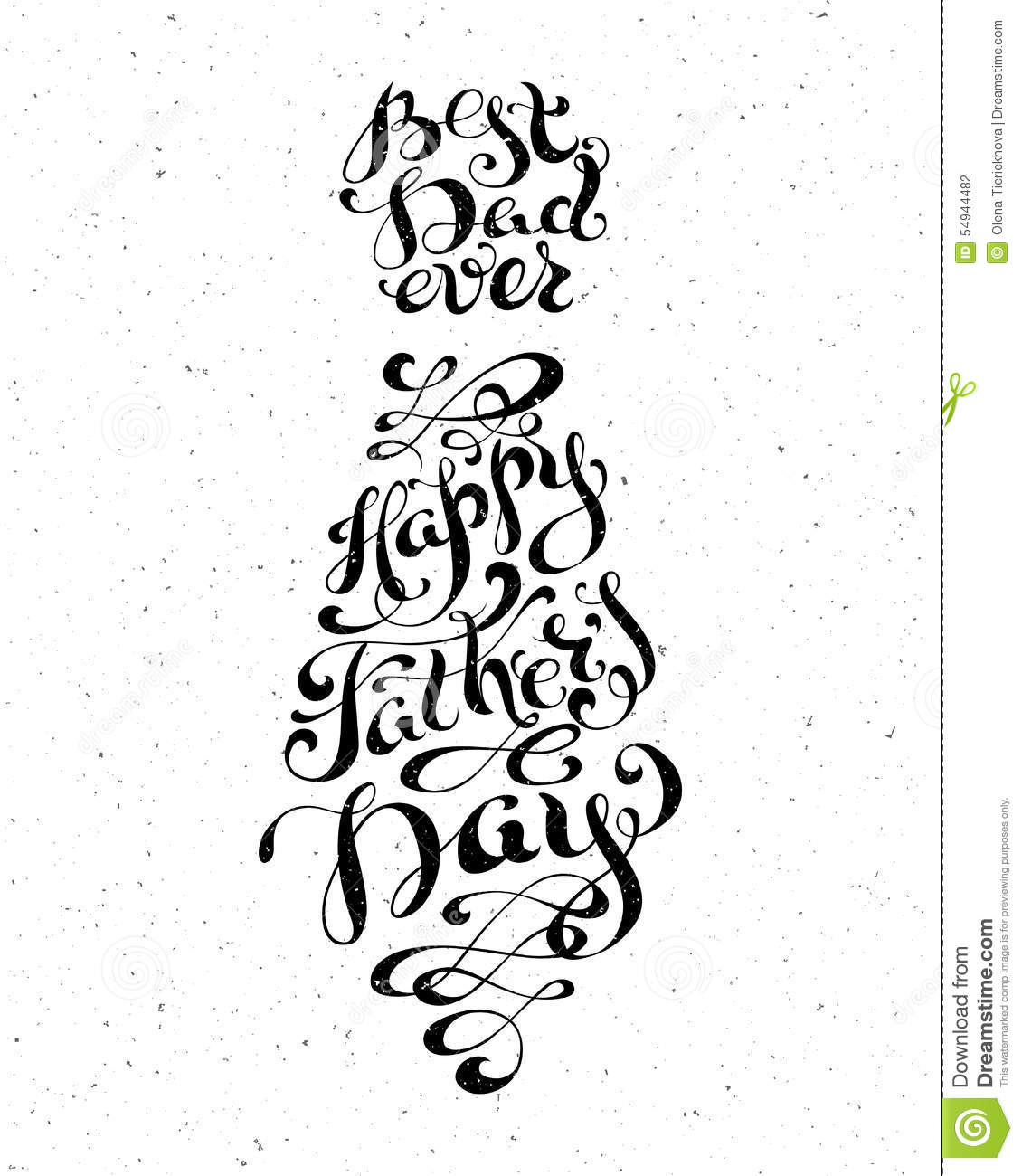Best dad ever happy fathers day stock vector illustration of best dad ever happy father s day kristyandbryce Choice Image