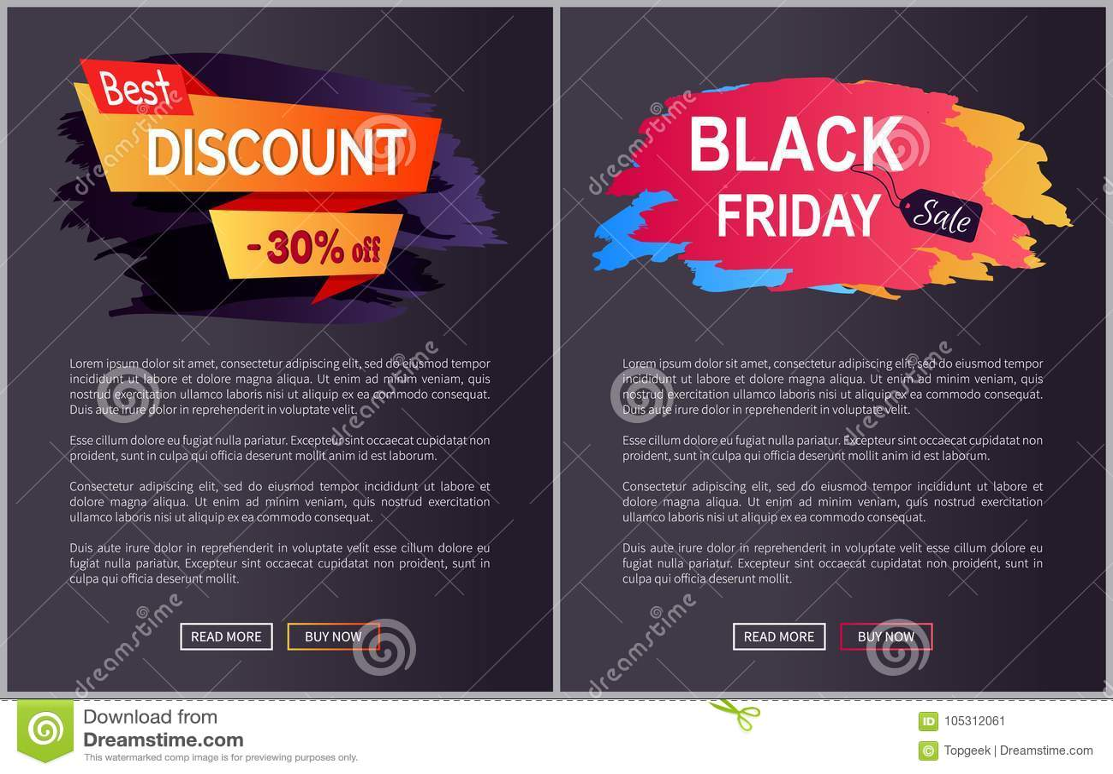 Best Discount 30 Black Friday Vector Illustration Stock Vector Illustration Of Background Marketing 105312061