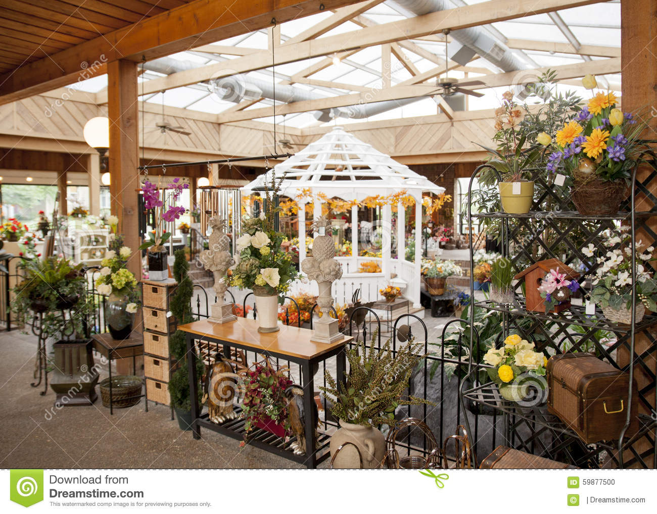 Best Flower Shop Stock Image