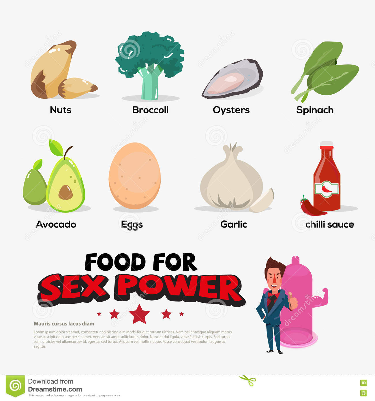 The best food for sex
