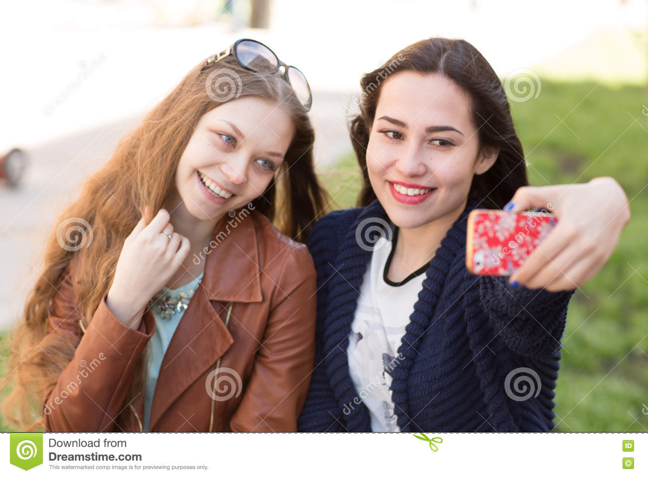best friend girls stock image. image of candid, real - 73124665