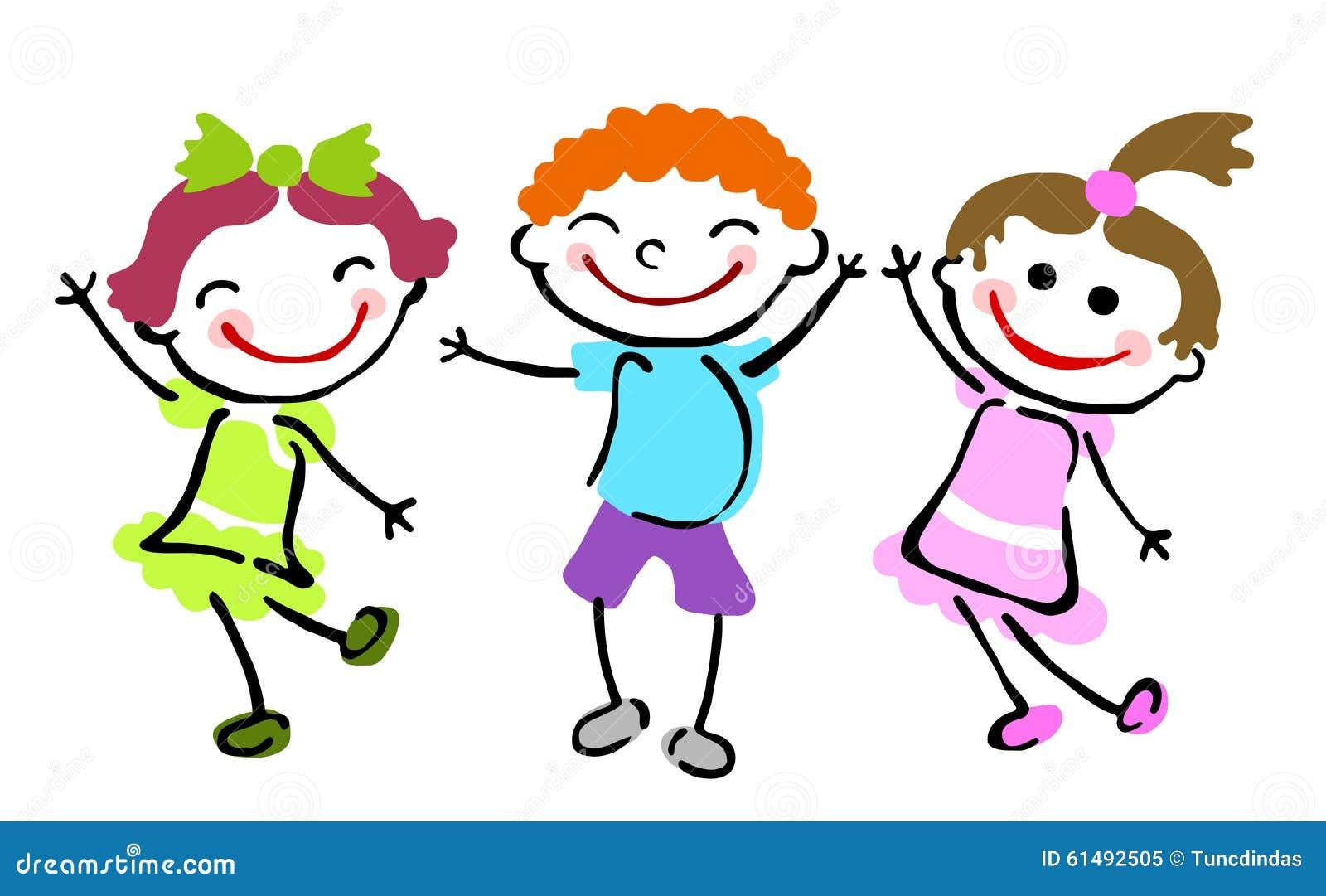 Best Friends Group Children Stock Illustrations – 91 Best Friends