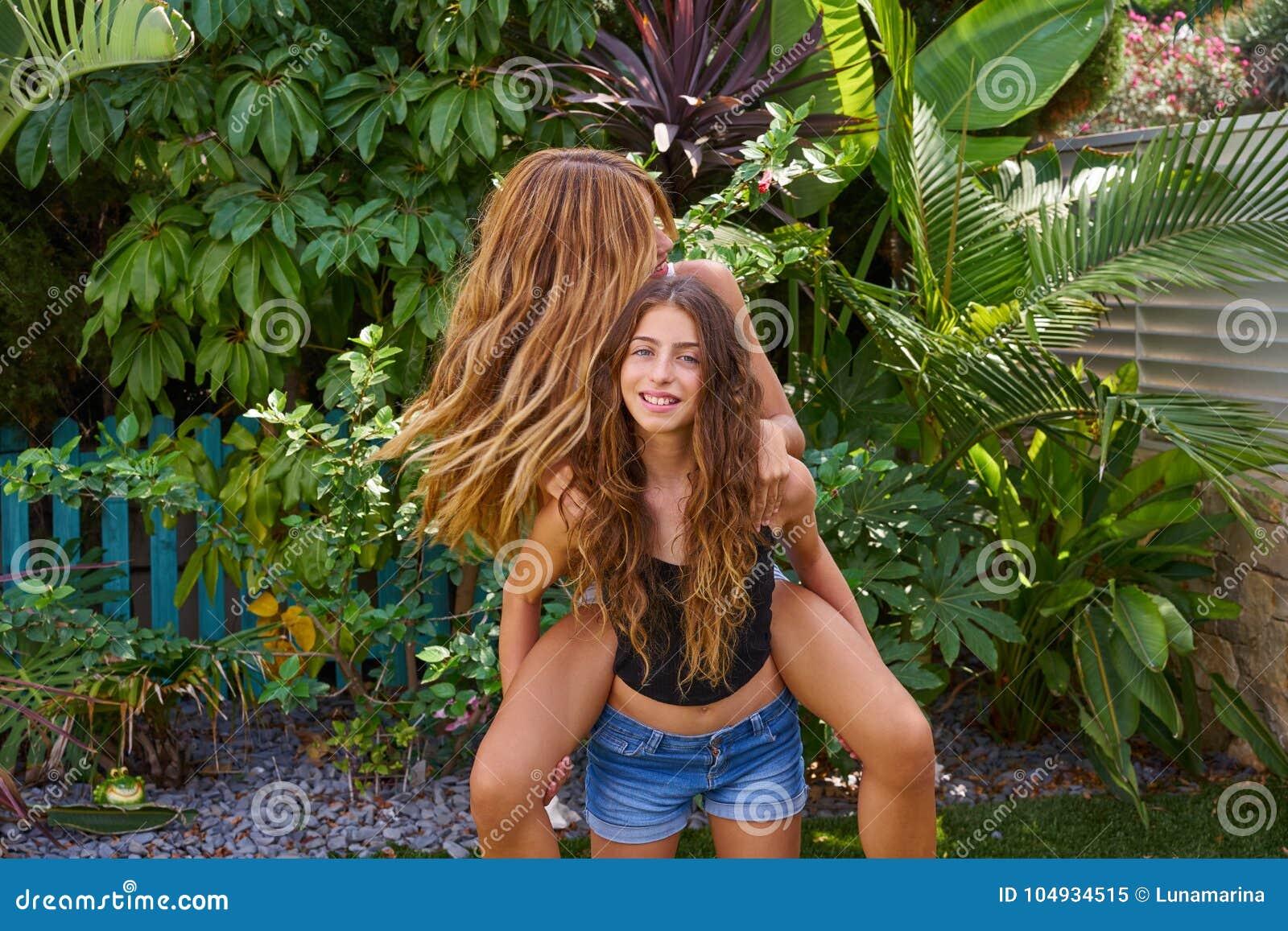 Flat girls nude spanking