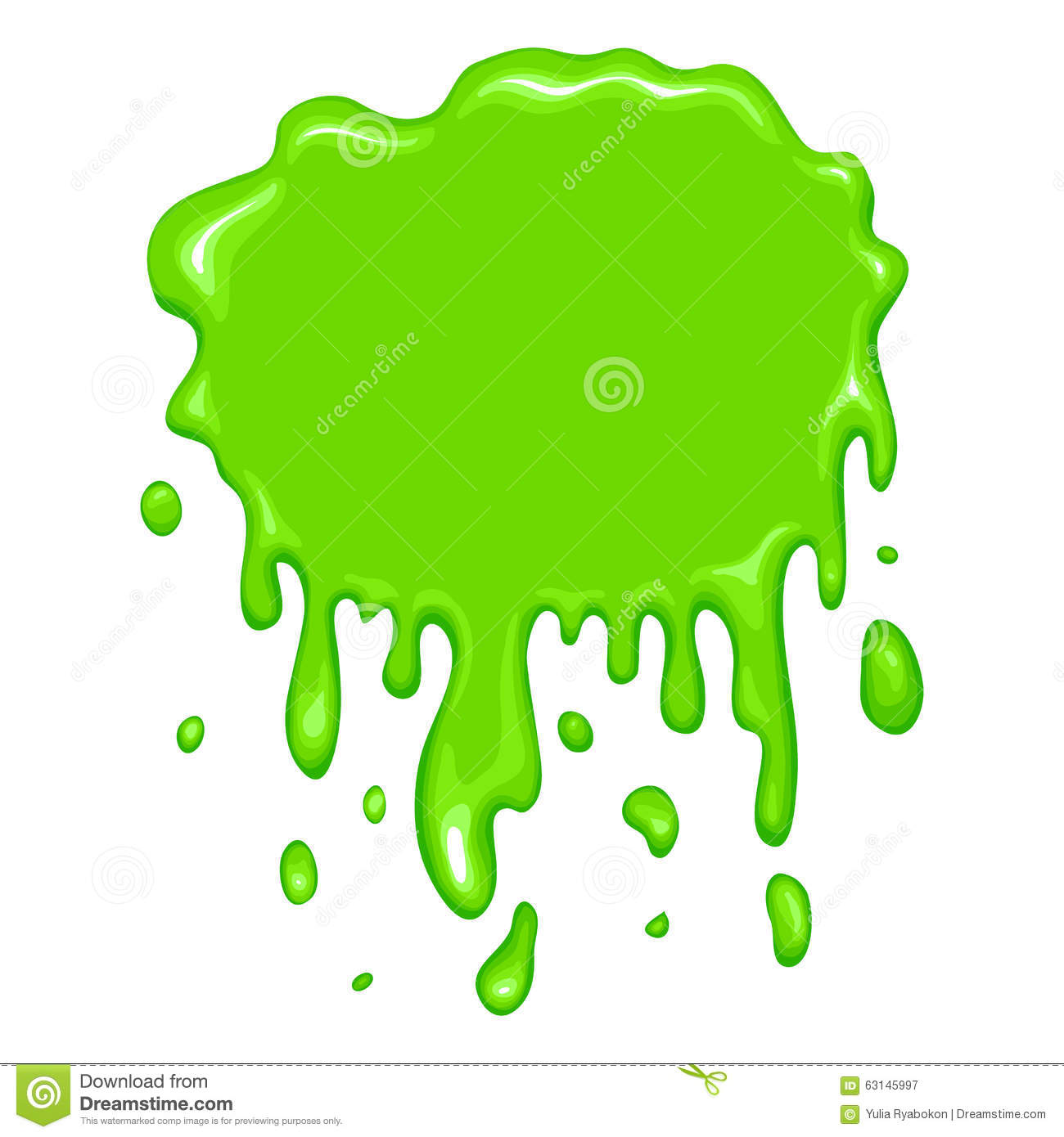 Banner Design Ideas Best Green Slime Icon Stock Vector Image 63145997