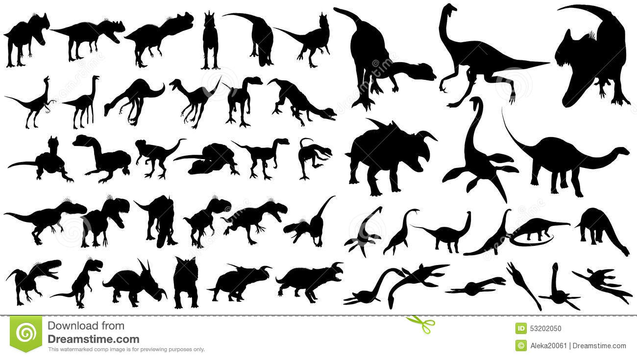 Stock Illustration Best Known Species Dinosaurs Image Shape Different Types Herbivorous Carnivorous Which Include Tyrannosaurus Image53202050 on dinosaur vector graphics