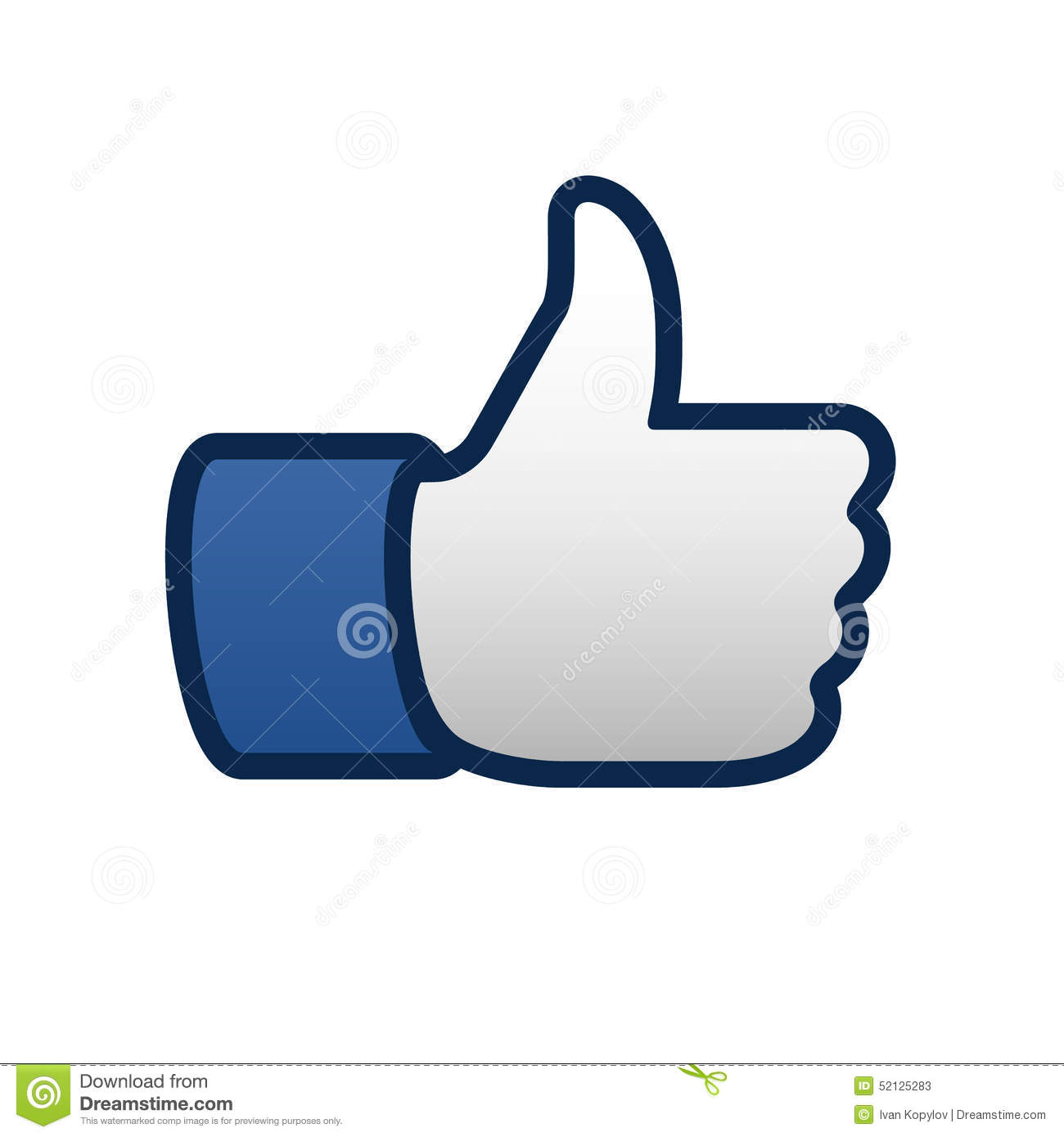 Best Like Thumbs Up Symbol Icon Editorial Stock Photo Illustration