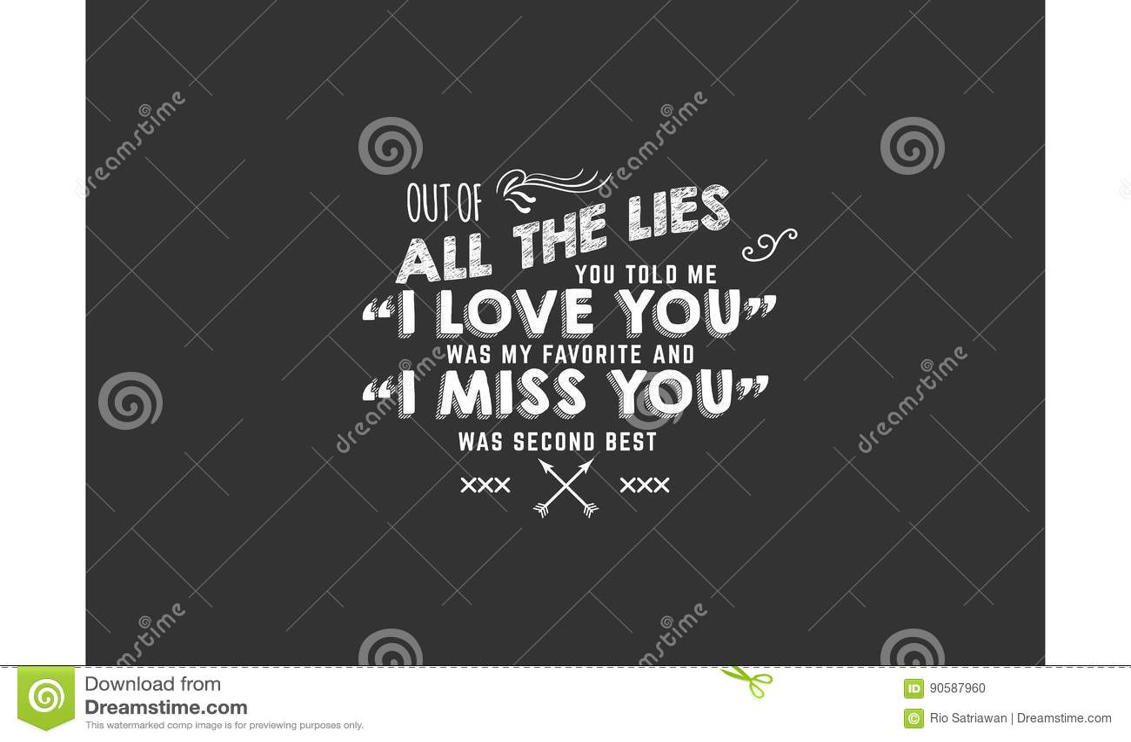 Best love quotes stock illustration. Illustration of ...