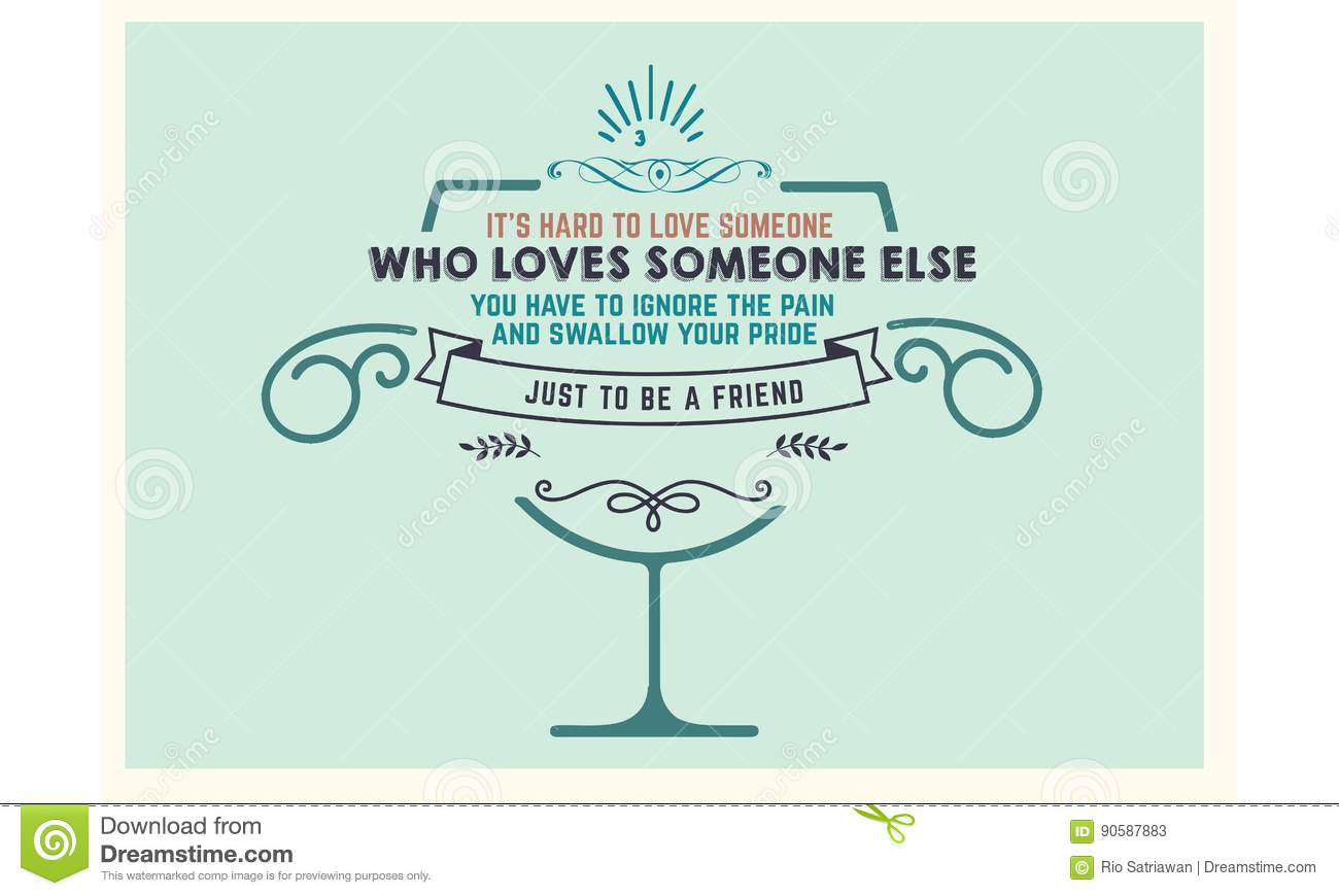 Best love quotes stock illustration  Illustration of