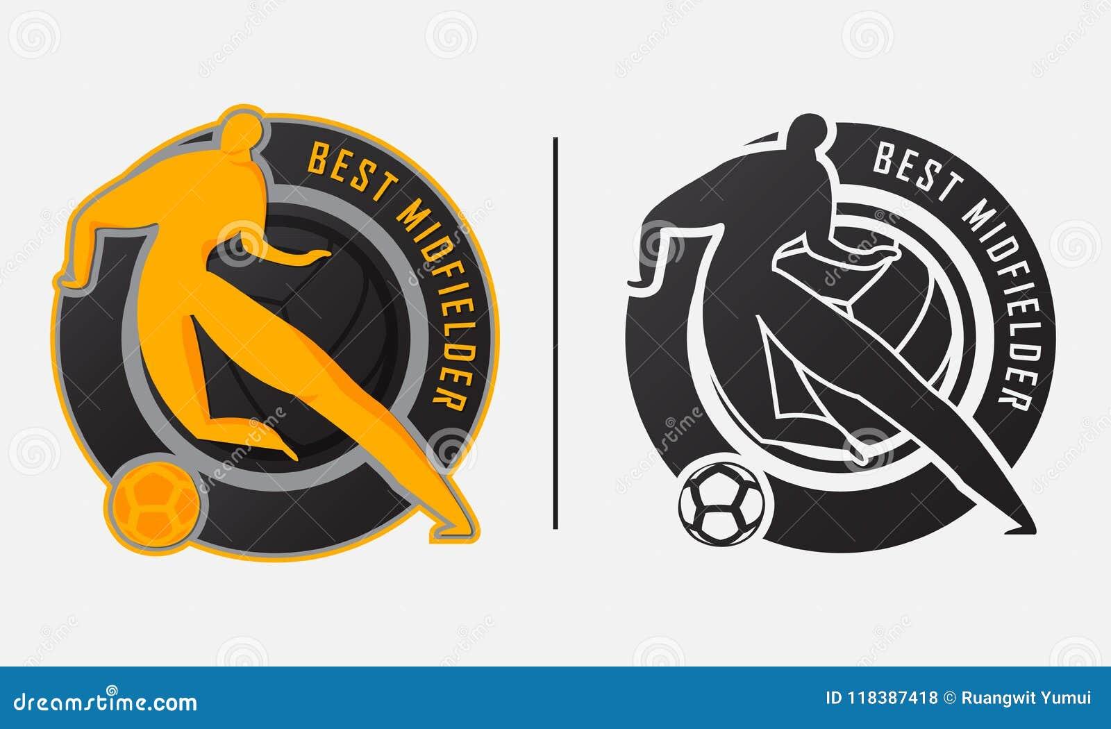 Best Midfielder Trophy Best Soccer Player Or Football Player Award