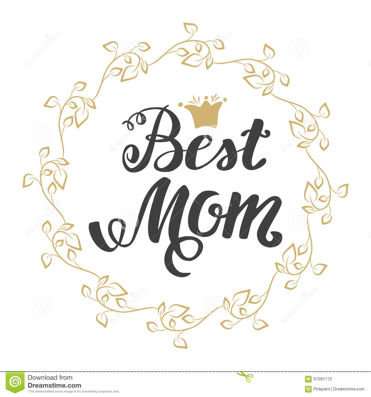 Best mom greeting card mothers day hand lettering greeting best mom greeting card mother s day hand lettering greeting inscription kristyandbryce Choice Image
