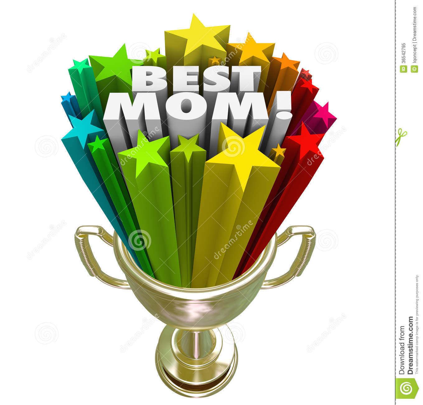 Best Mom parenting prize, trophy or award given to world's greatest ...