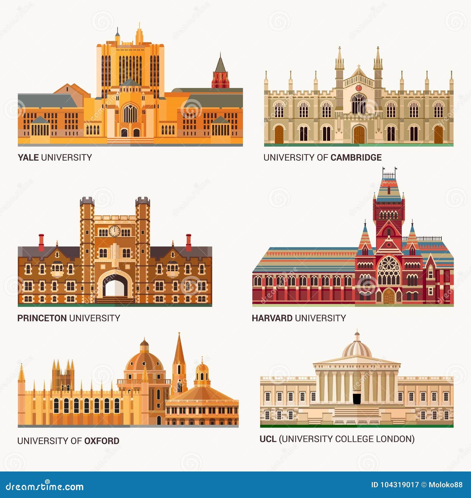 Best National Universities  Flat Buildings Of Yale, Oxford