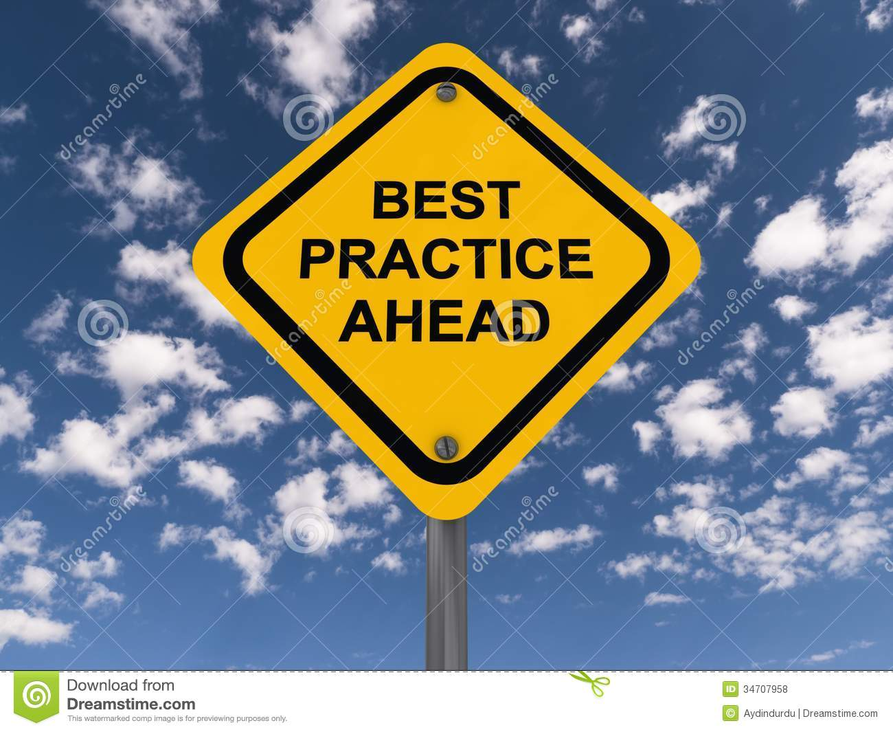 Best Practice Ahead Sign Royalty Free Stock Photos - Image ...