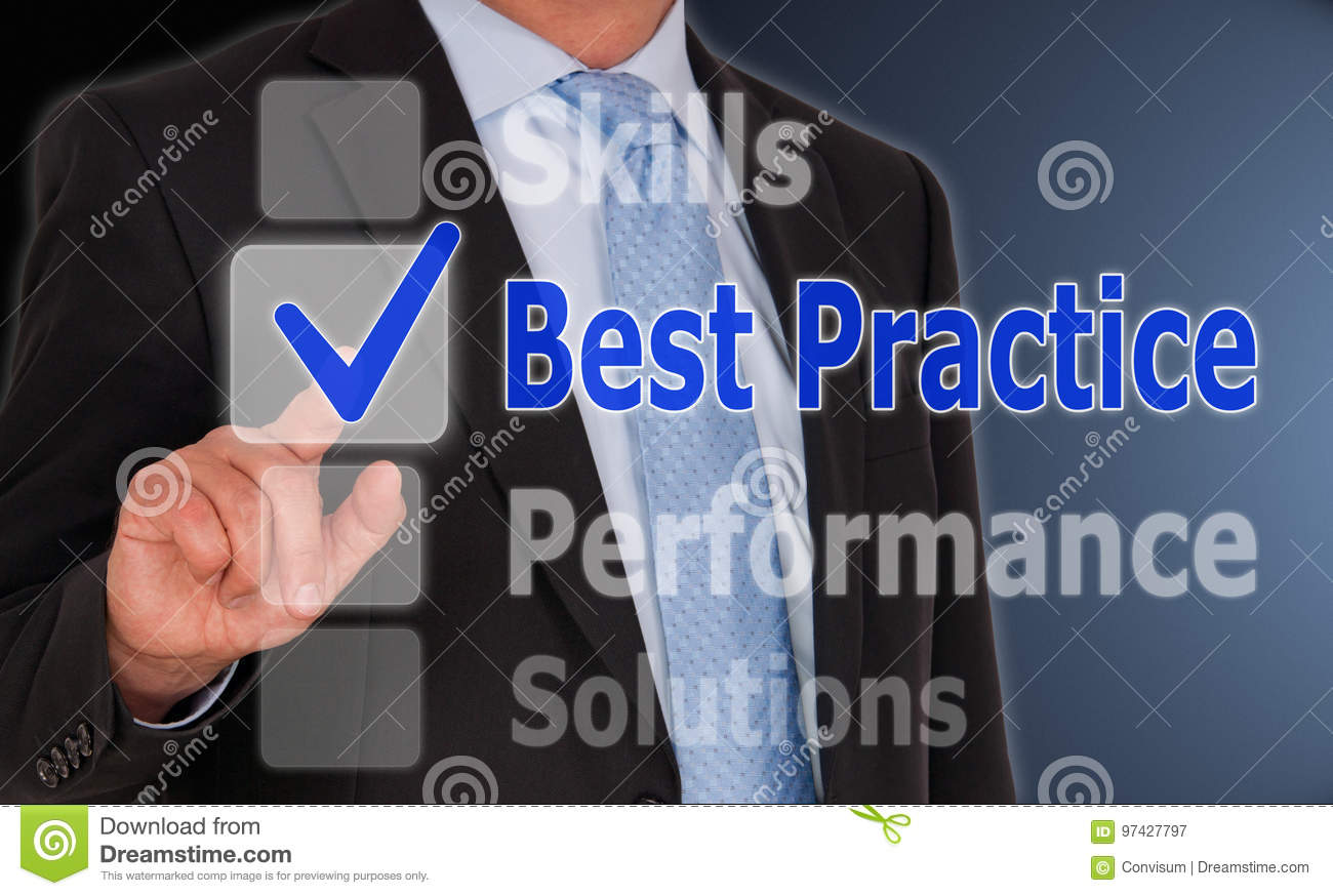 Best Practice - Manager with touchscreen button