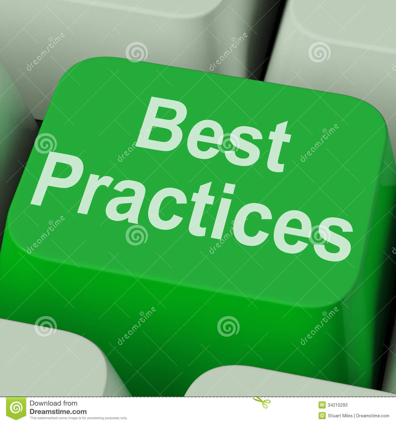 Best practices key shows improving business quality stock download best practices key shows improving business quality stock illustration illustration of best method reheart Choice Image