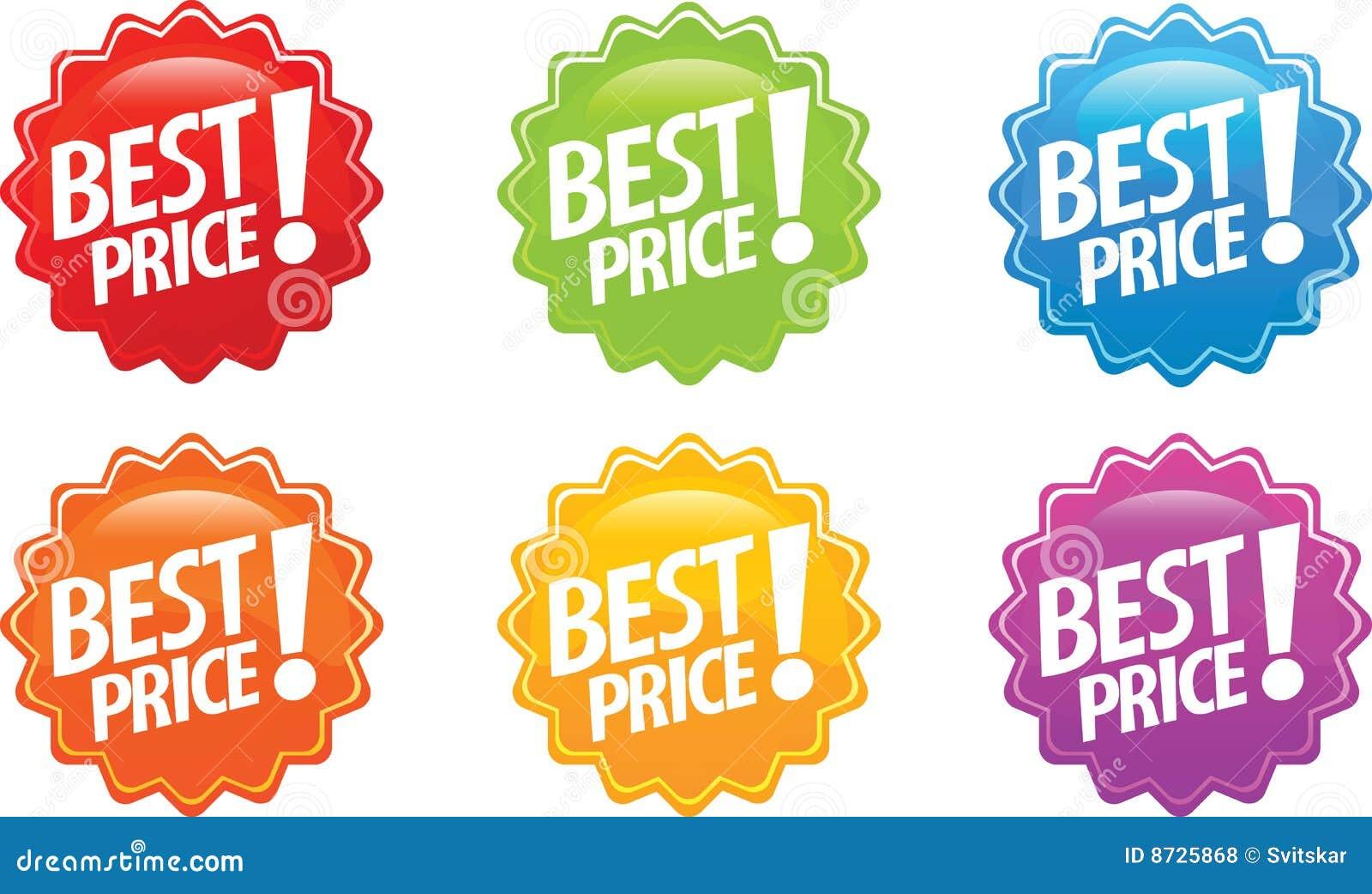 Best price glossy sticker