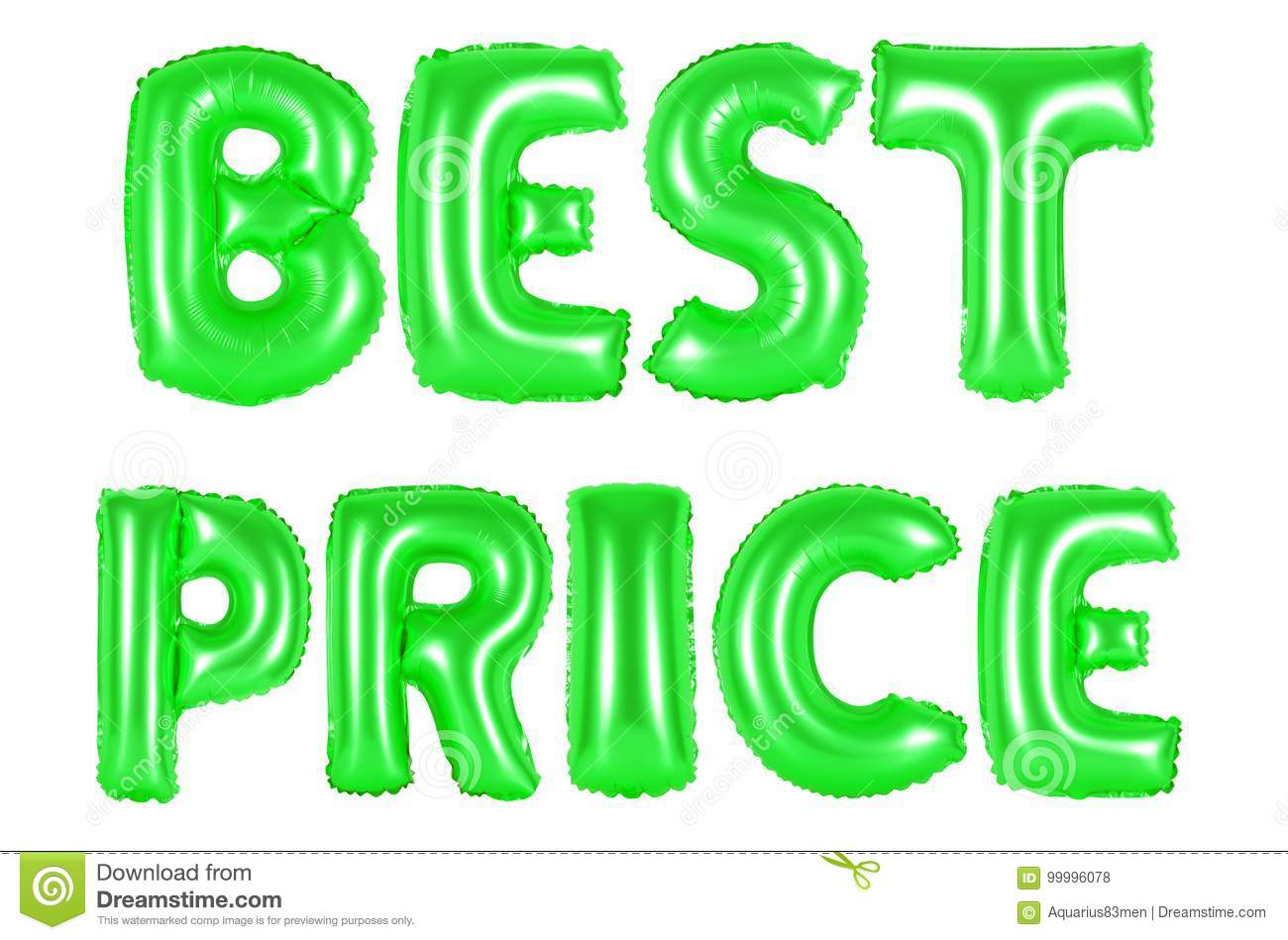Best price, green color stock photo. Image of commercial - 99996078