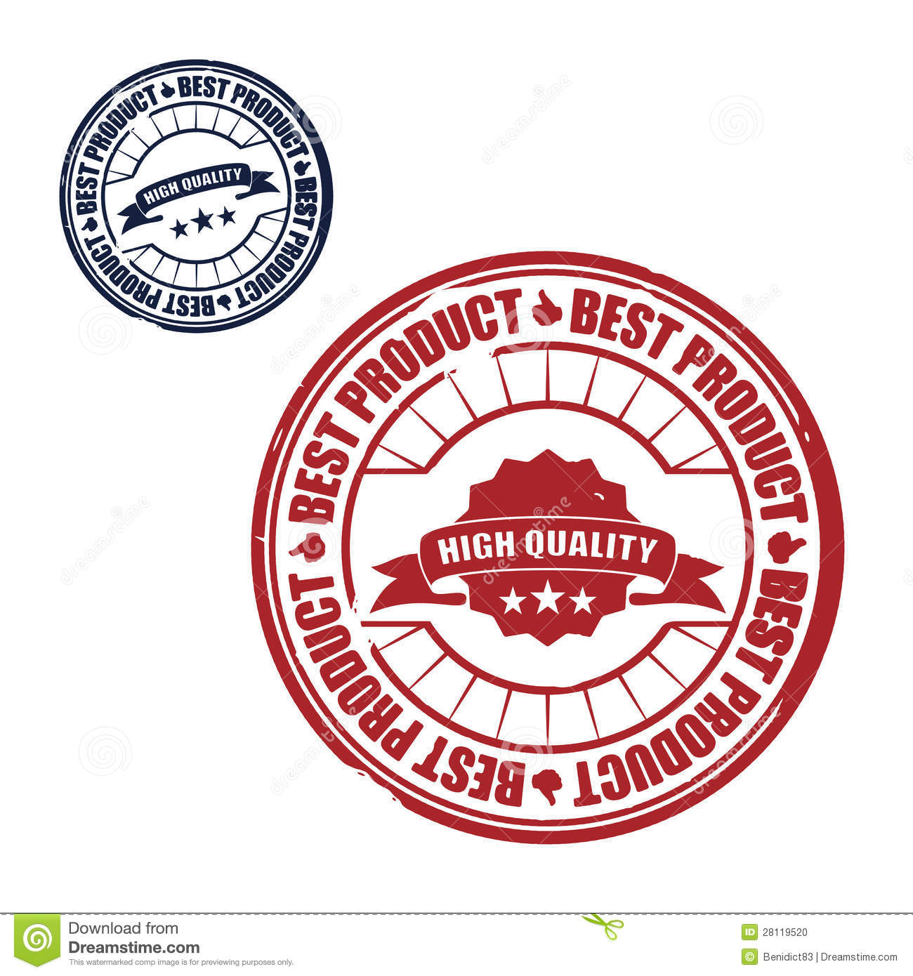 Best Product Stamp, Vector Stock Vector. Image Of Best