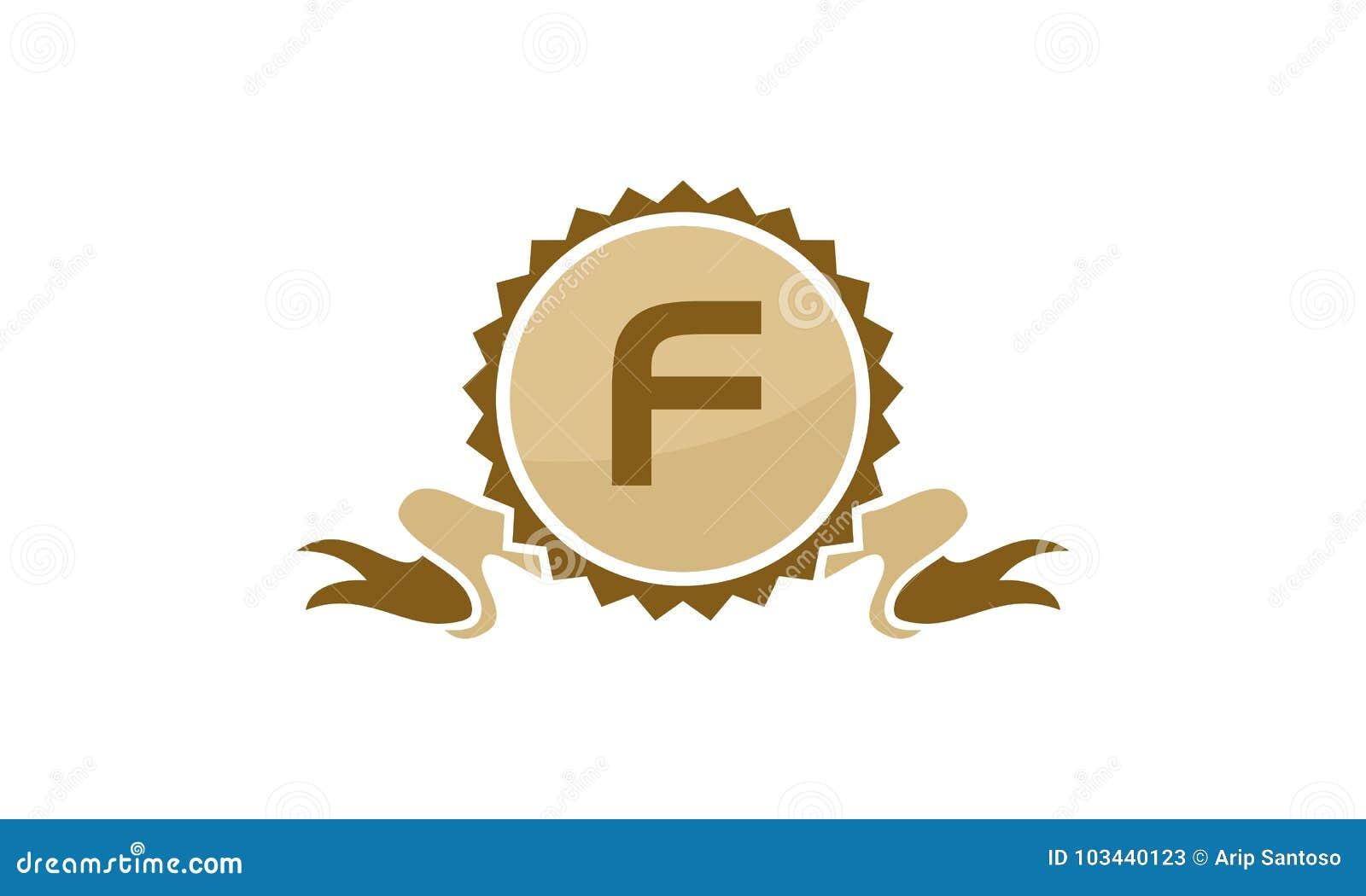 3a5dfbf436 Best Quality Ribbon Letter F Stock Vector - Illustration of customer ...