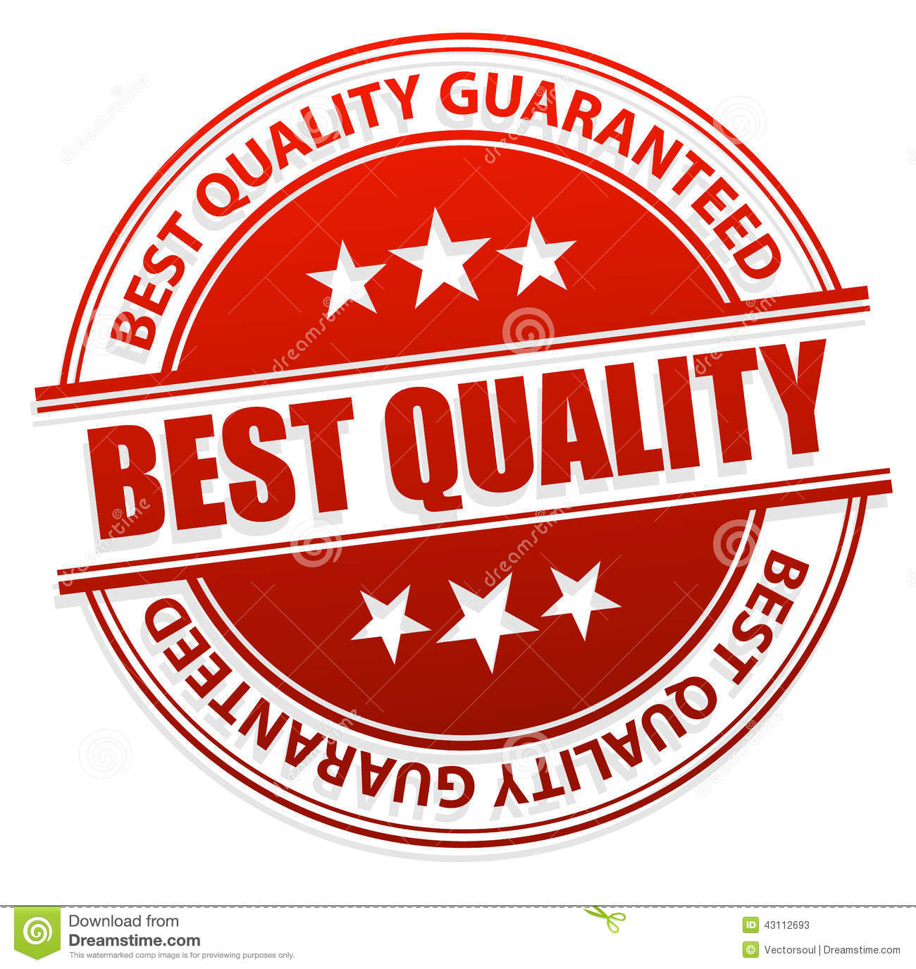 Best Quality Stamp Stock Vector
