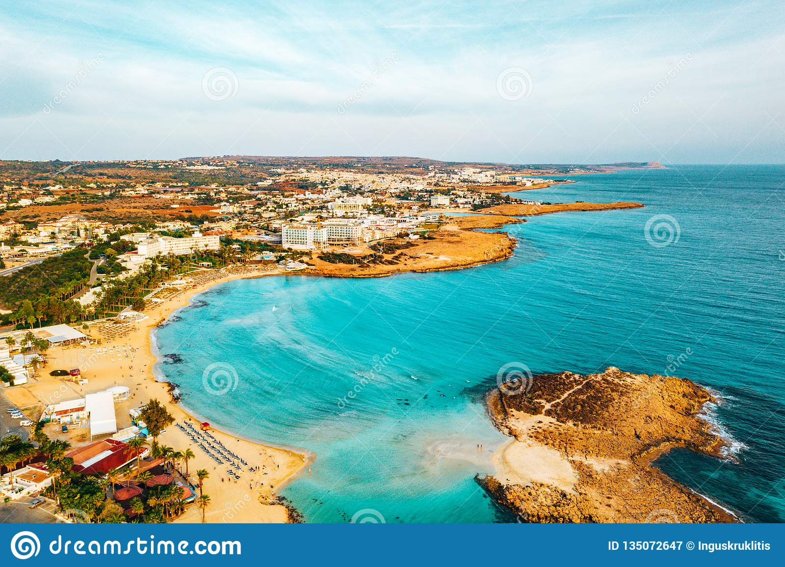 The Best Resort Area Of Cyprus Nissi Beach The Hotels