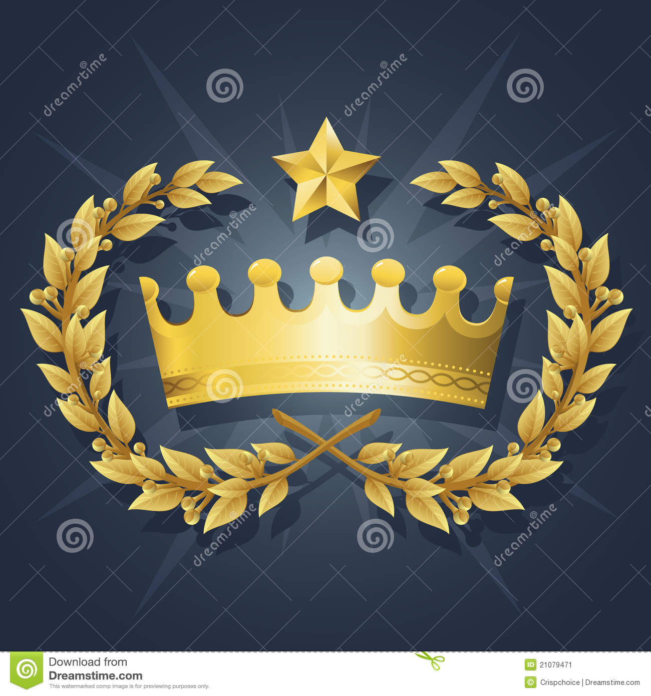 Queen And King Crown Symbol