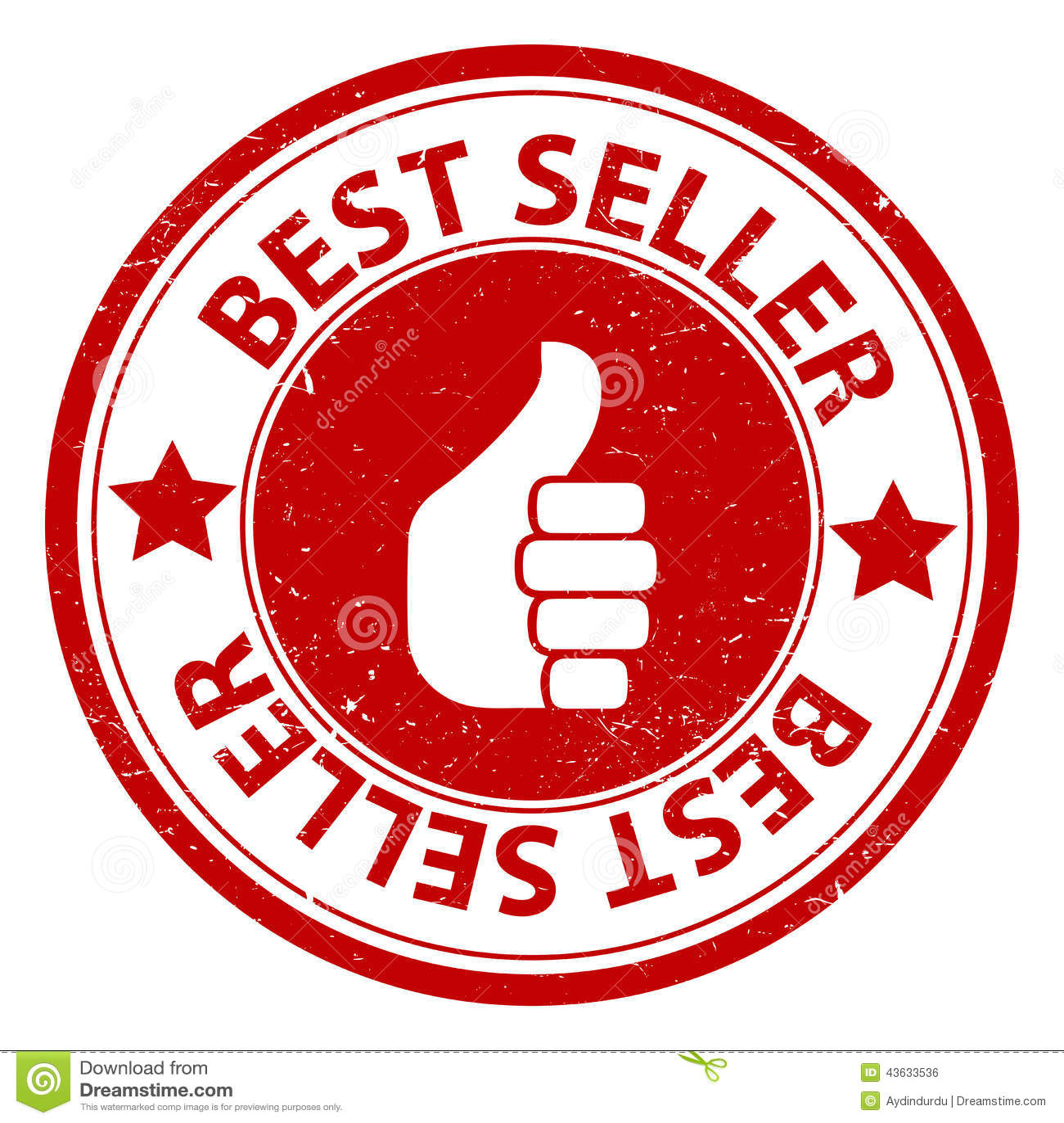 Best Seller Stock Vector. Illustration Of Design, Thumbs