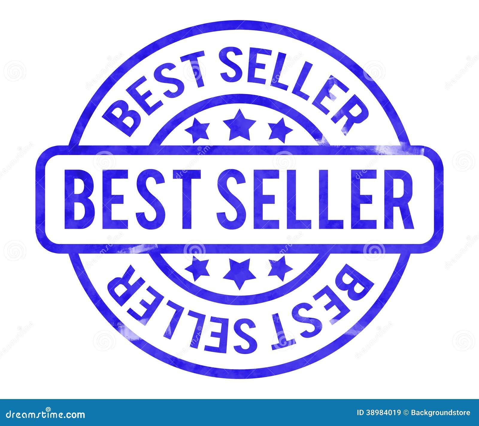 Pizza Logo Illustration: Best Seller Stamp Stock Illustration