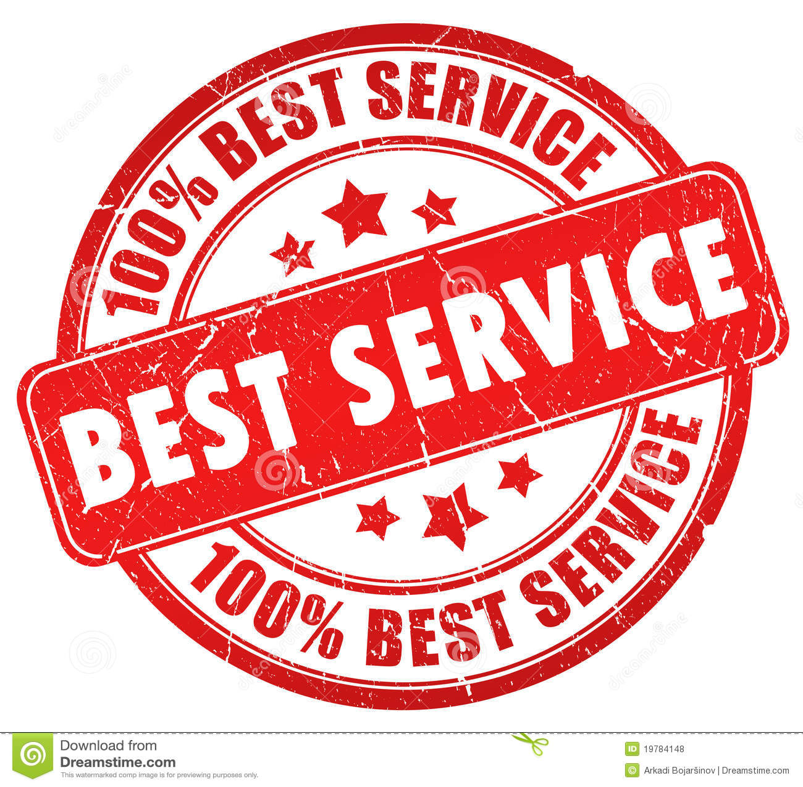 Best Service Stock Illustration. Image Of Business