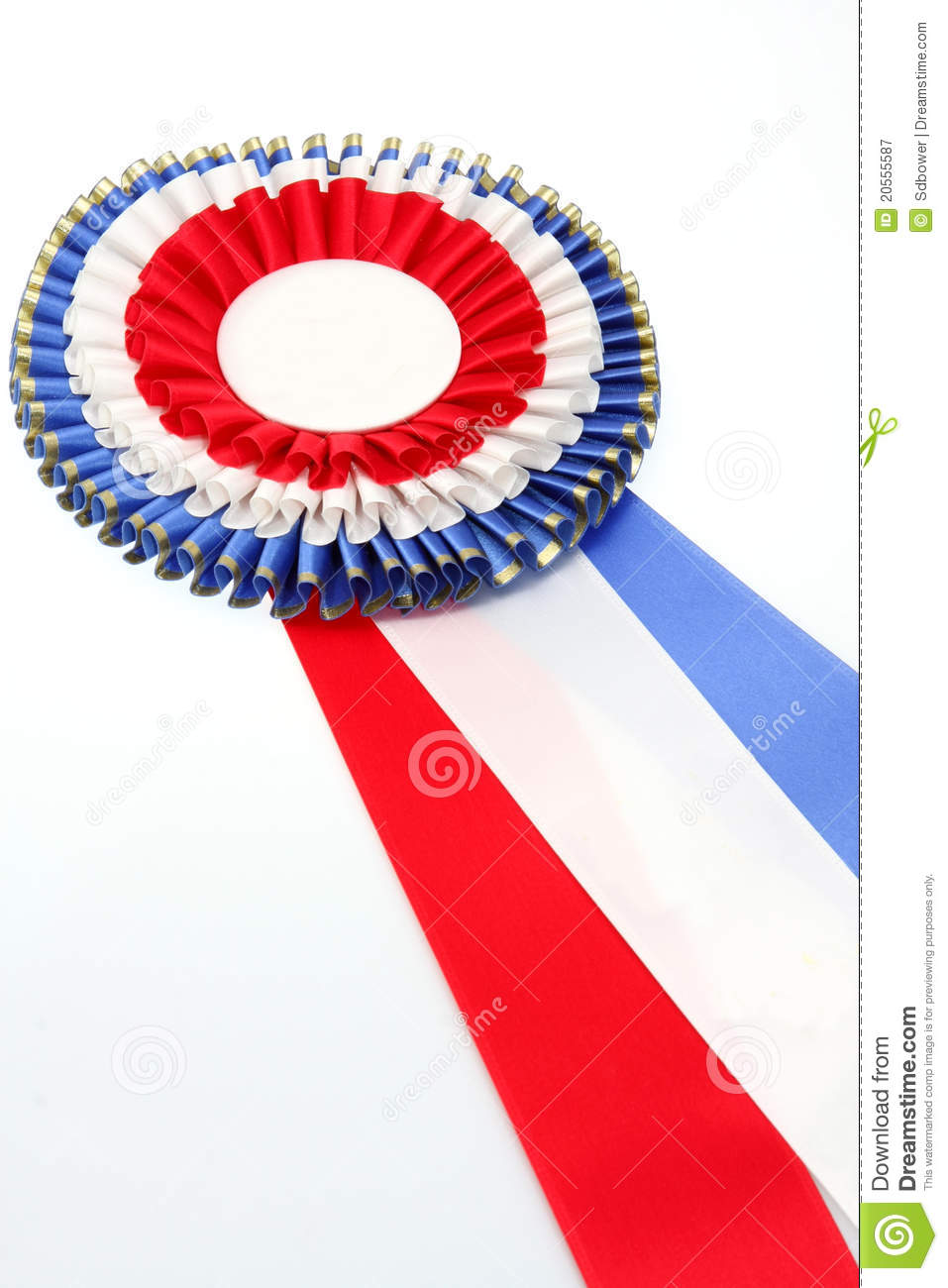 Best of Show Ribbon stock image  Image of rosette, first - 20555587