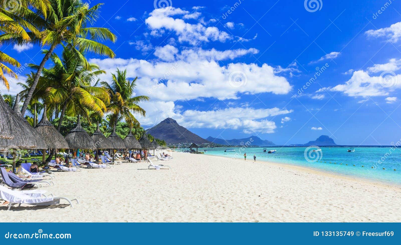 Best Tropical Beaches  Flic En Flac In Mauritius Island