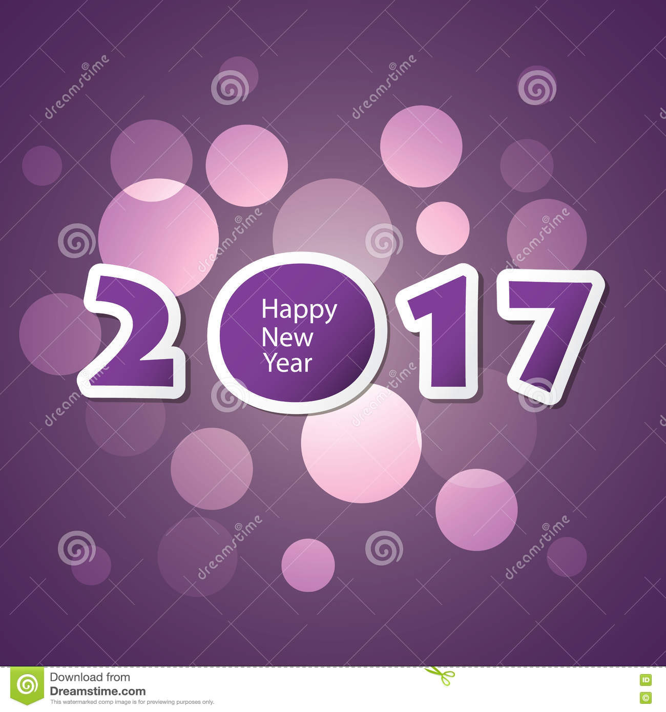best wishes abstract modern style happy new year greeting card or background creative design