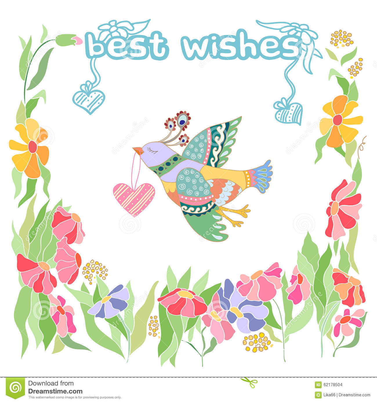 Best wishes greetings with doodle design stock vector illustration best wishes greetings with doodle design stock vector illustration of greetings educational 62178504 m4hsunfo