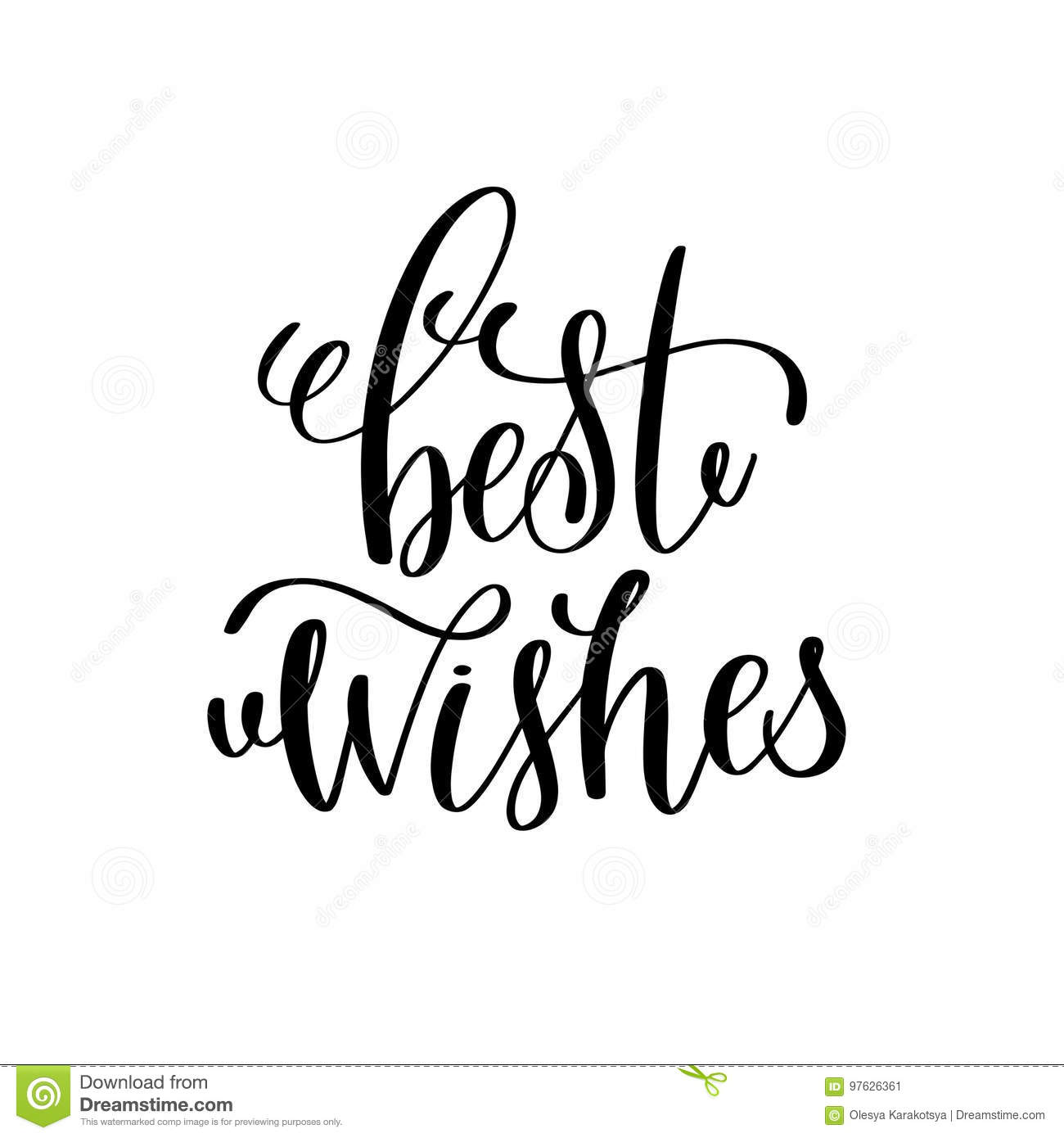 Best wishes hand lettering inscription to winter holiday stock download best wishes hand lettering inscription to winter holiday stock vector illustration of celebration m4hsunfo