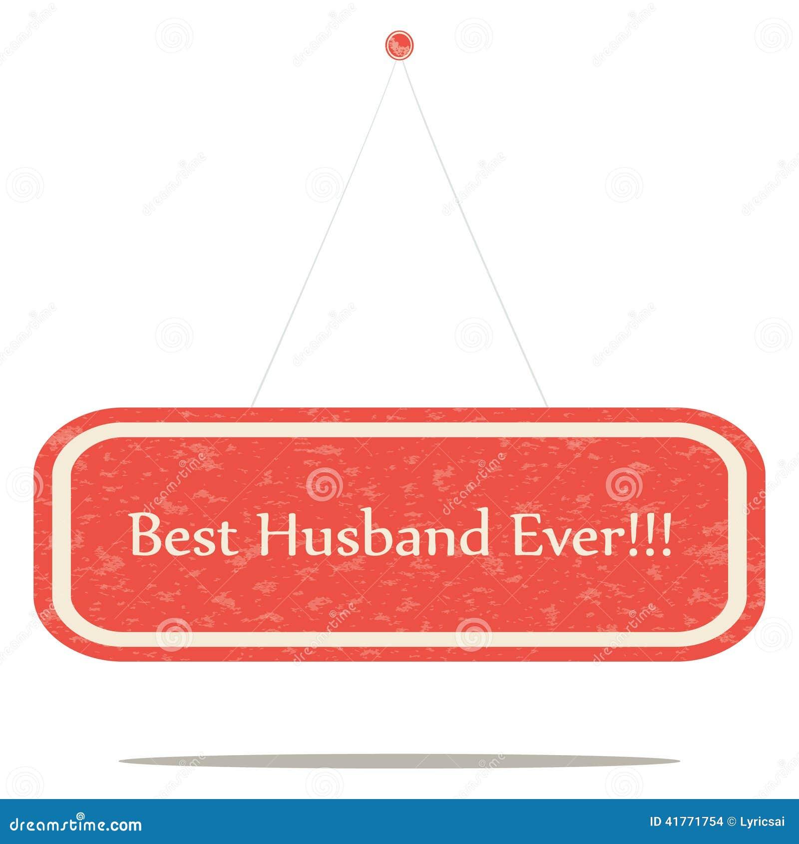 Beste echtgenoot ooit