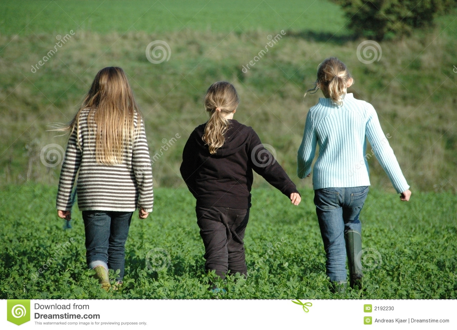 Beste Freunde, 3 Mädchen
