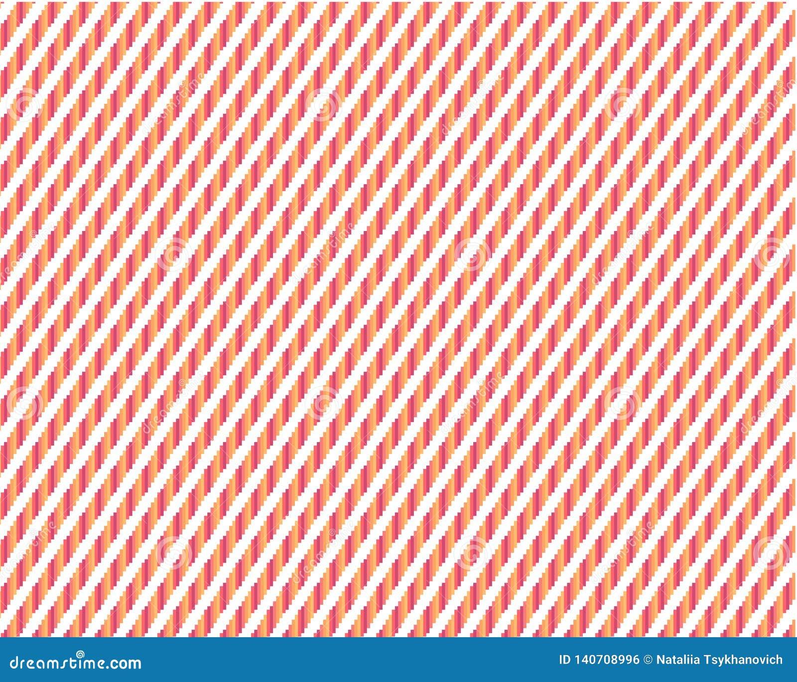 Bestehende farbige Rechtecke des geometrischen diagonalen Hintergrundes auf einem weißen Hintergrund