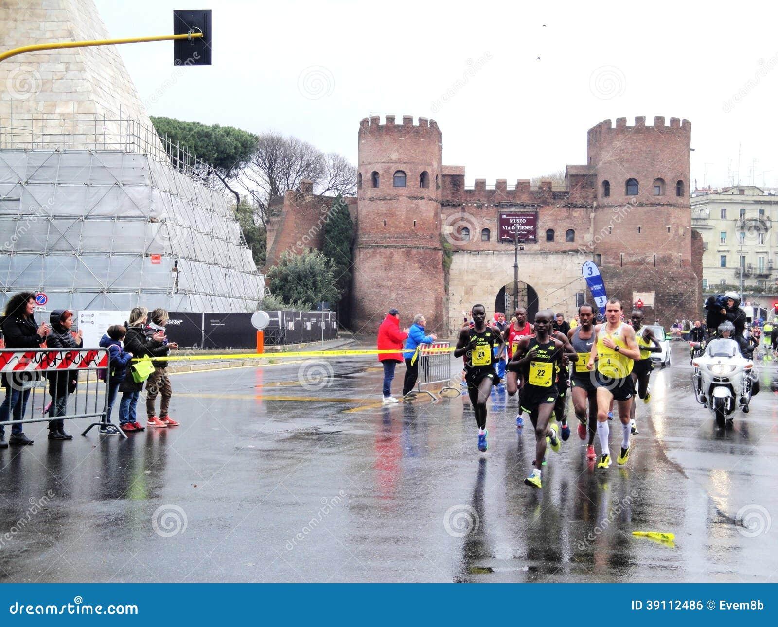 Bests van Mararathon van Rome, Maart 2014