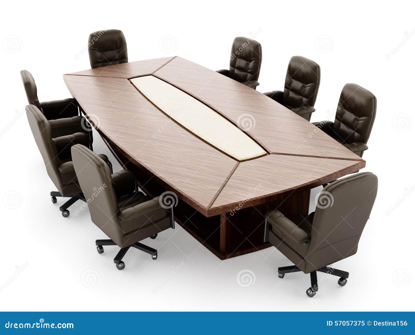 Bestuurskamerlijst en stoel